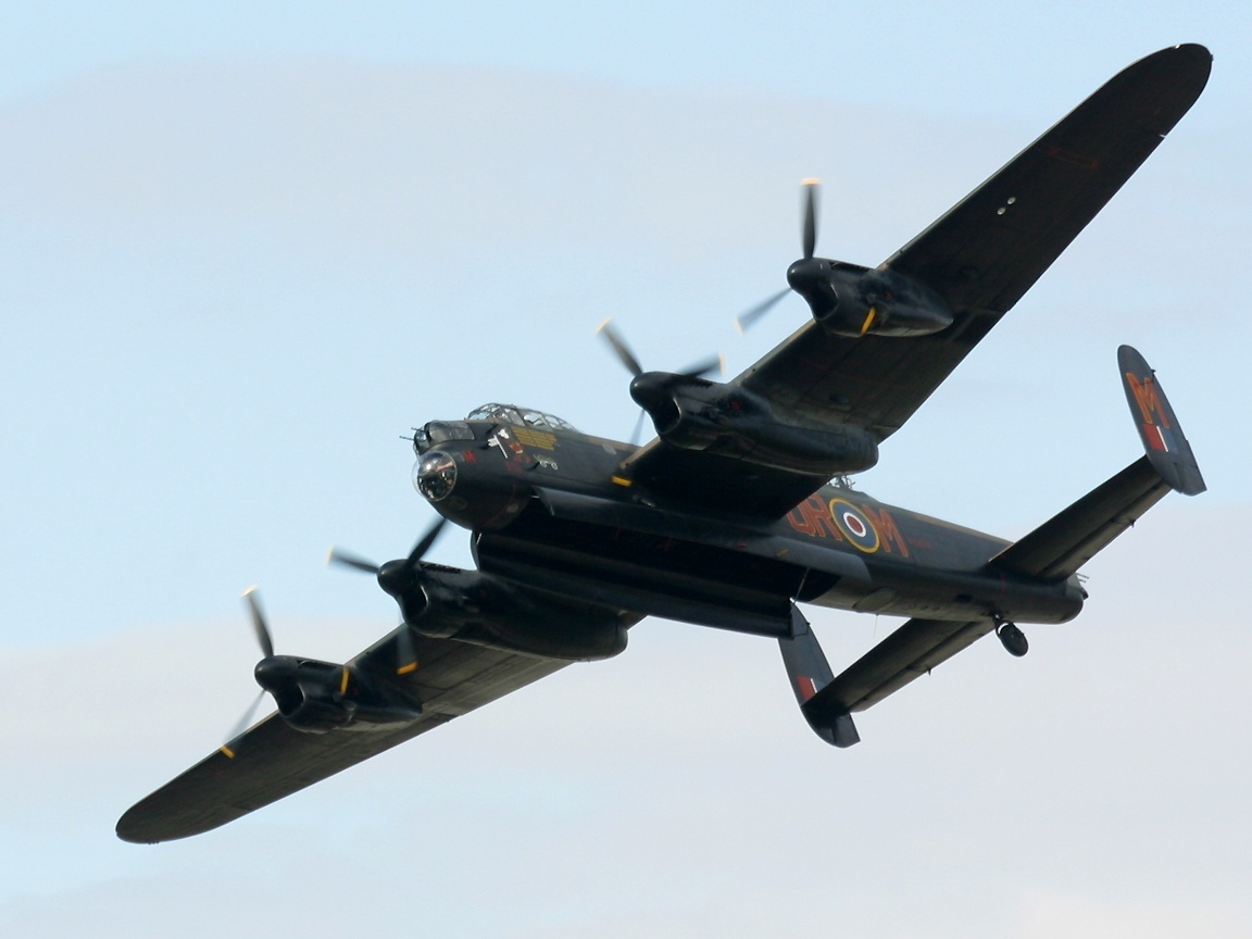 Aircraft military Avro Lancaster HD Wallpaper
