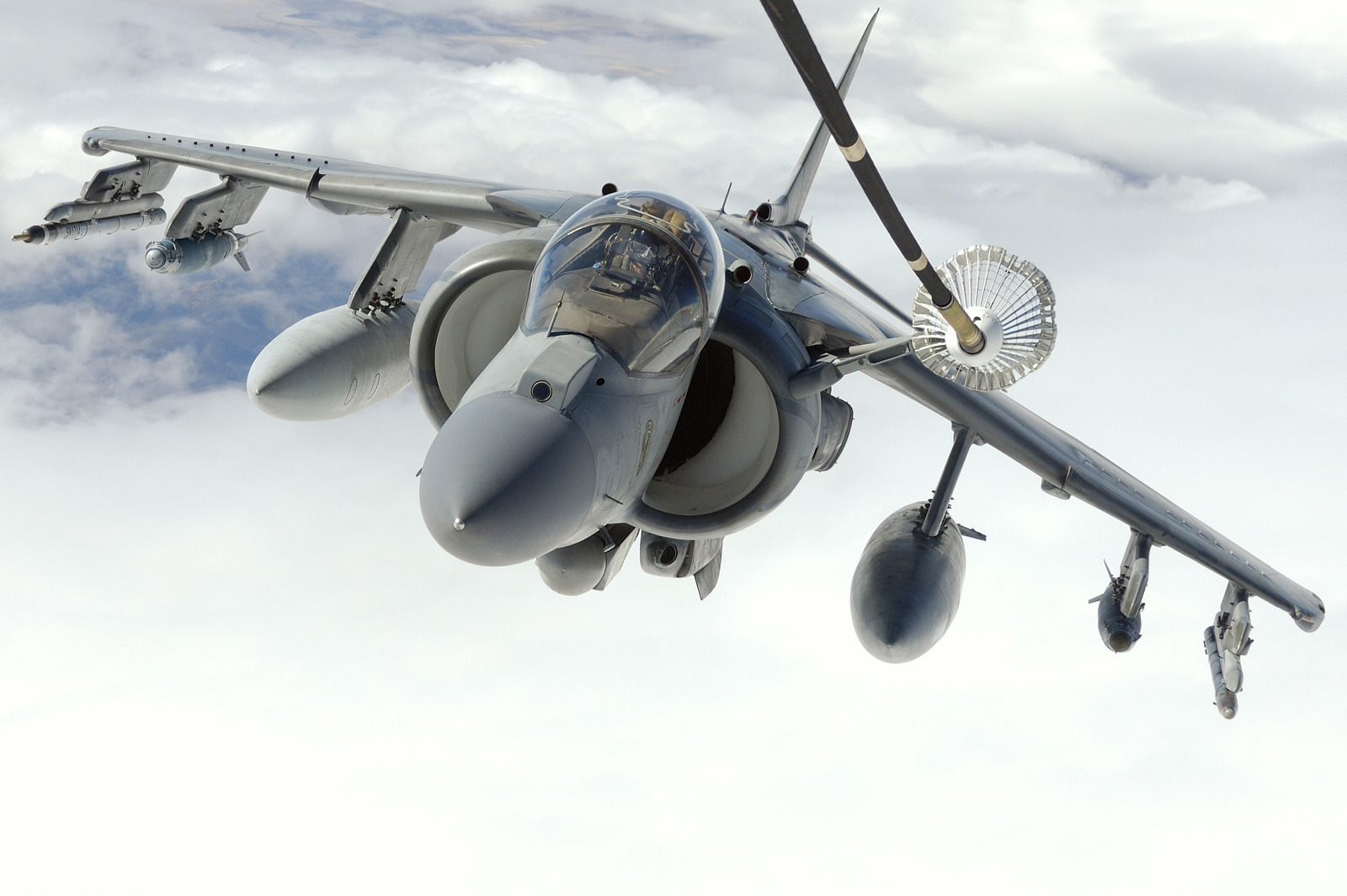 Aircraft military Boeing harrier HD Wallpaper