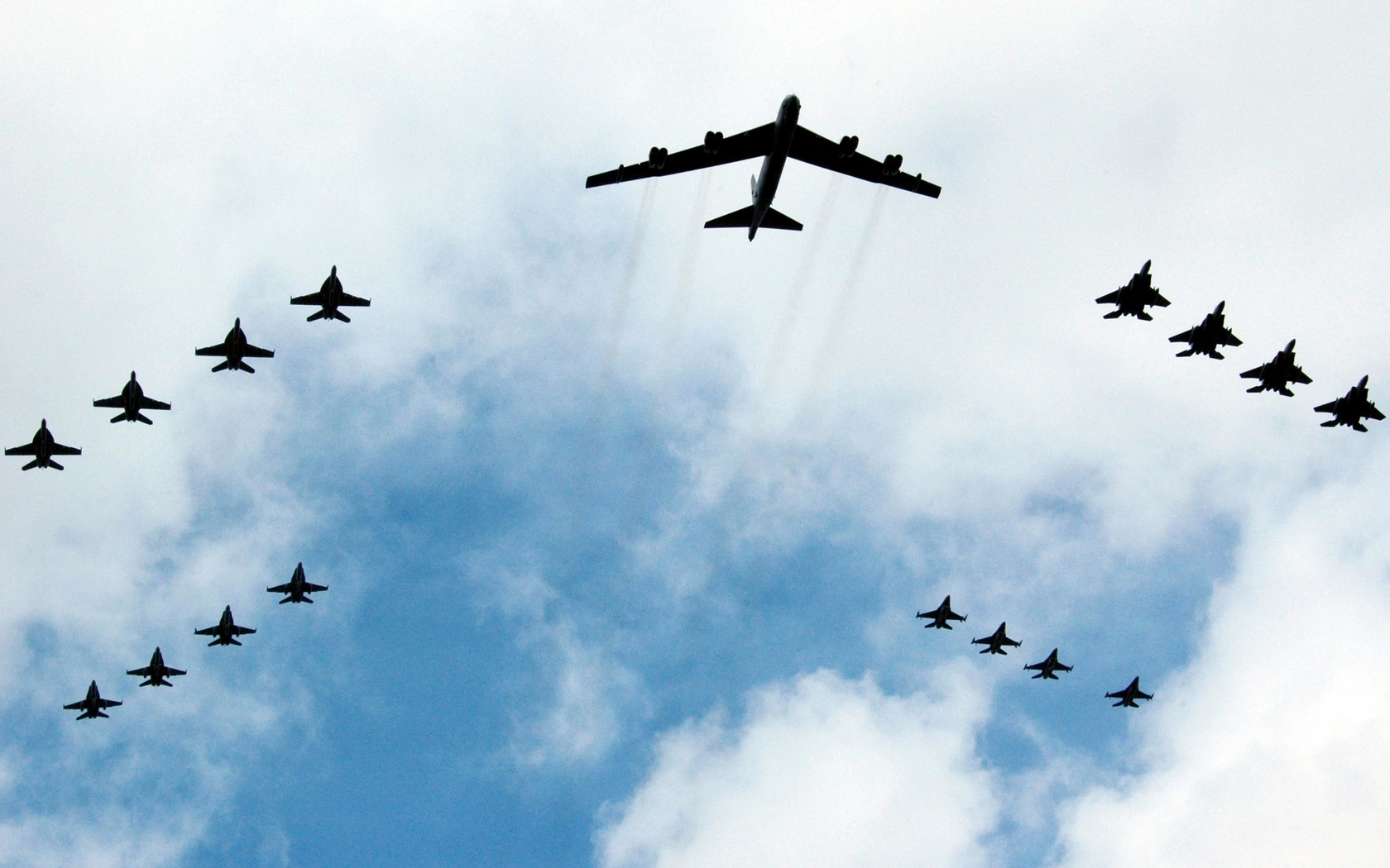 Aircraft military bomber B-52 HD Wallpaper