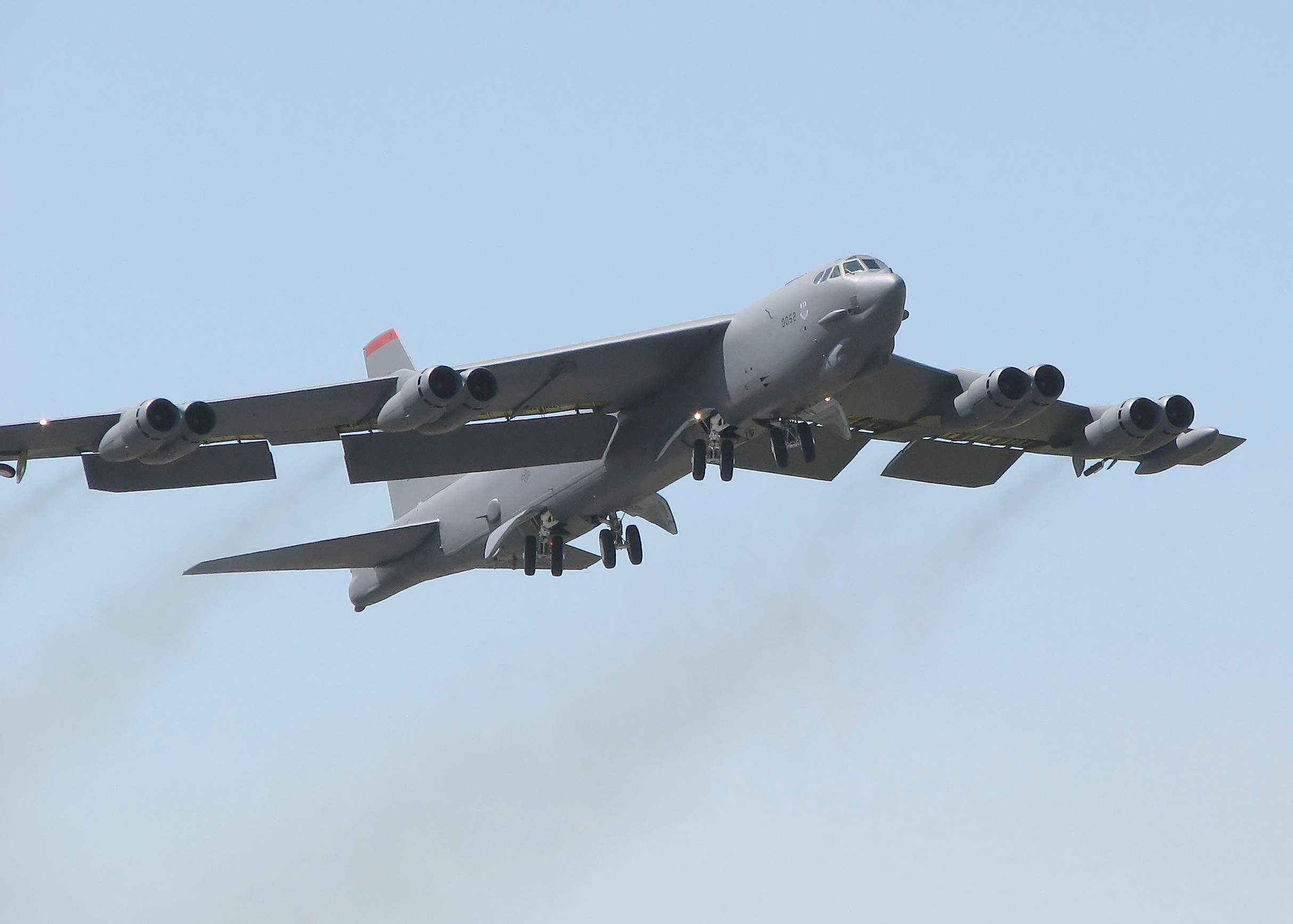 Aircraft military bomber b-52