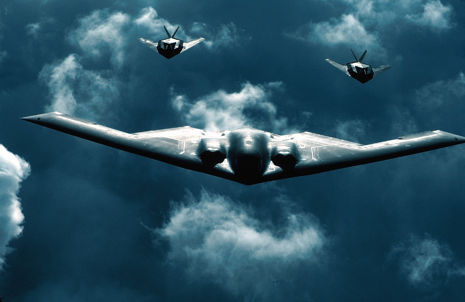 Aircraft military bomber Lockheed HD Wallpaper