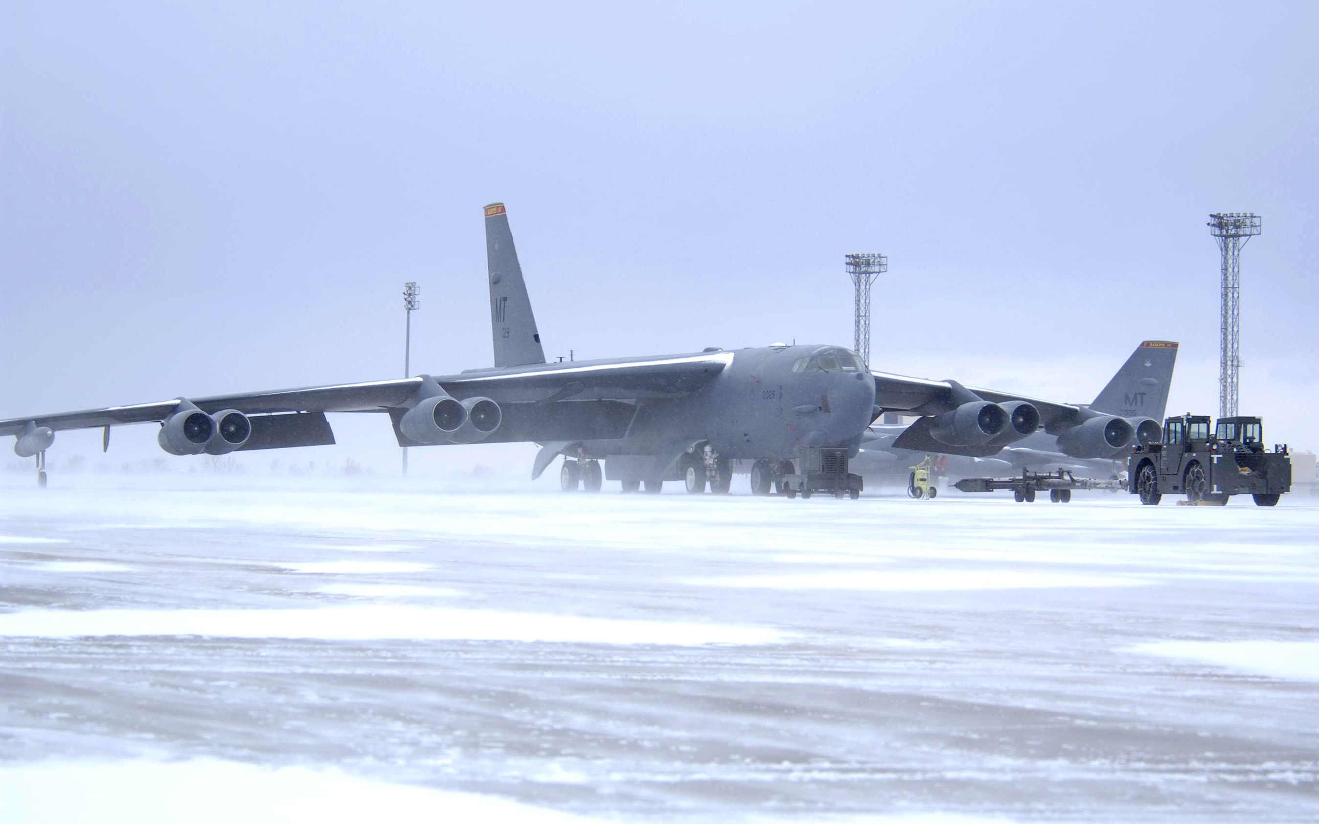 Aircraft military cold Arctic HD Wallpaper
