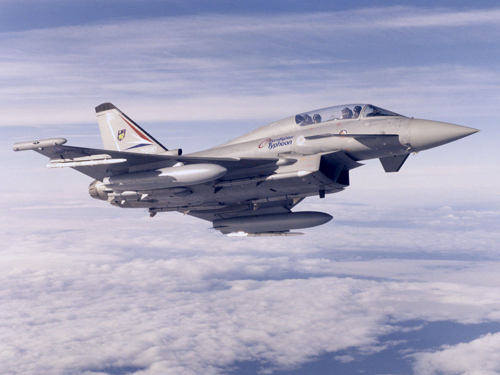 Aircraft military eurofighter Typhoon HD Wallpaper