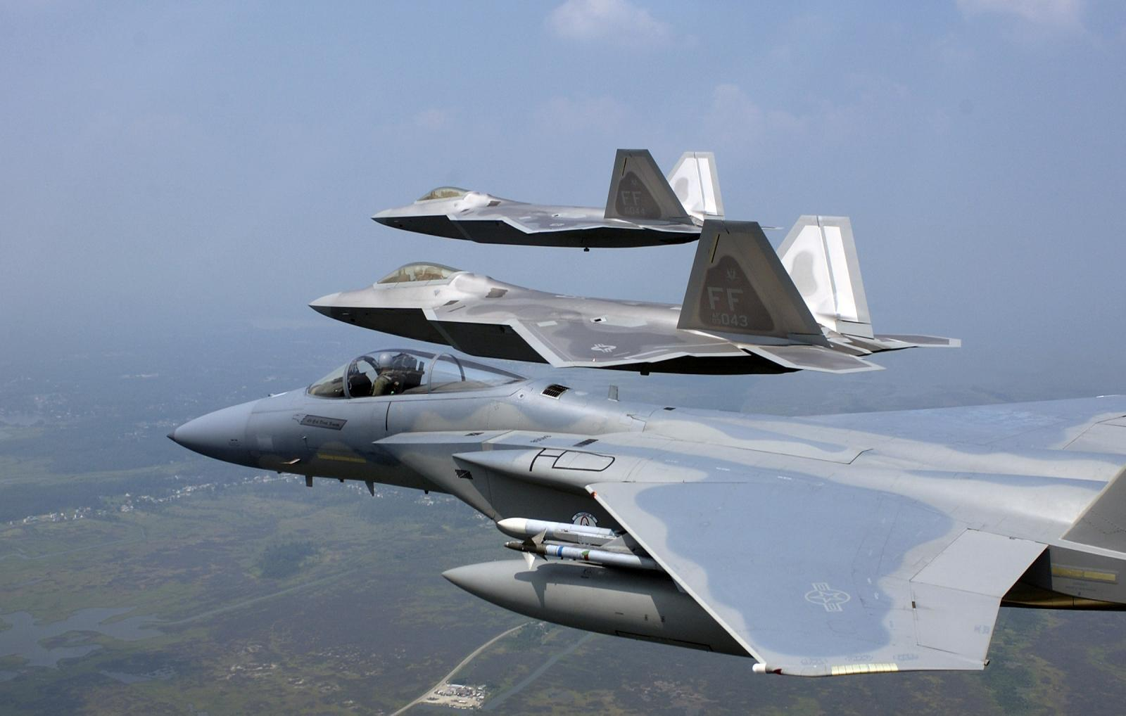 Aircraft military planes f-15 HD Wallpaper