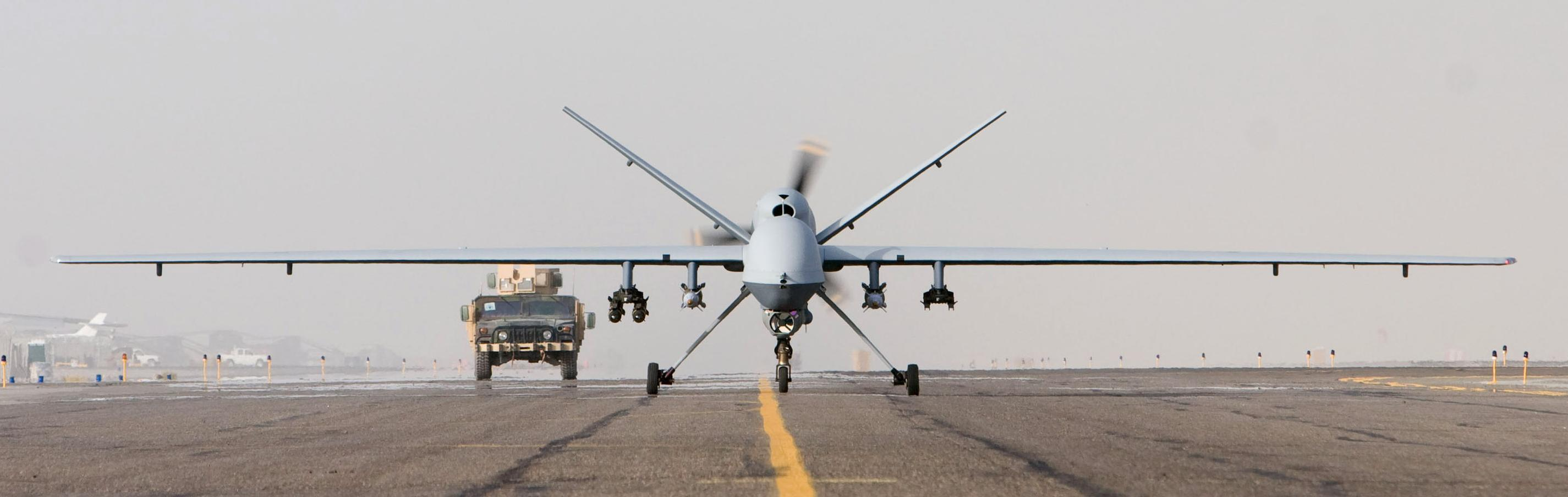 Aircraft military predator uav HD Wallpaper