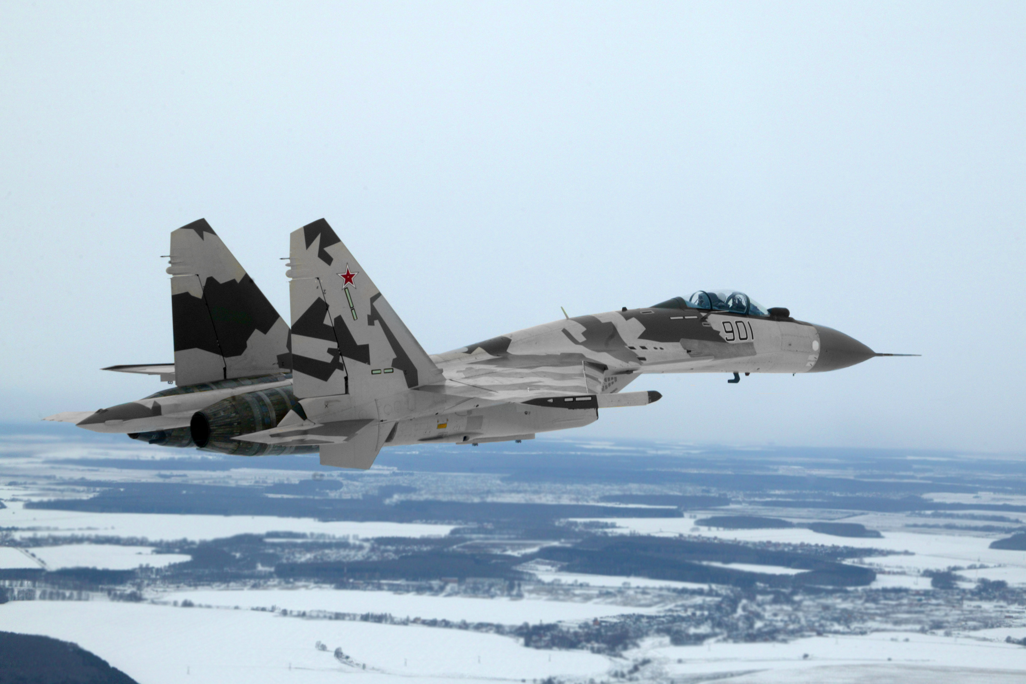 Aircraft military su-27 flanker HD Wallpaper