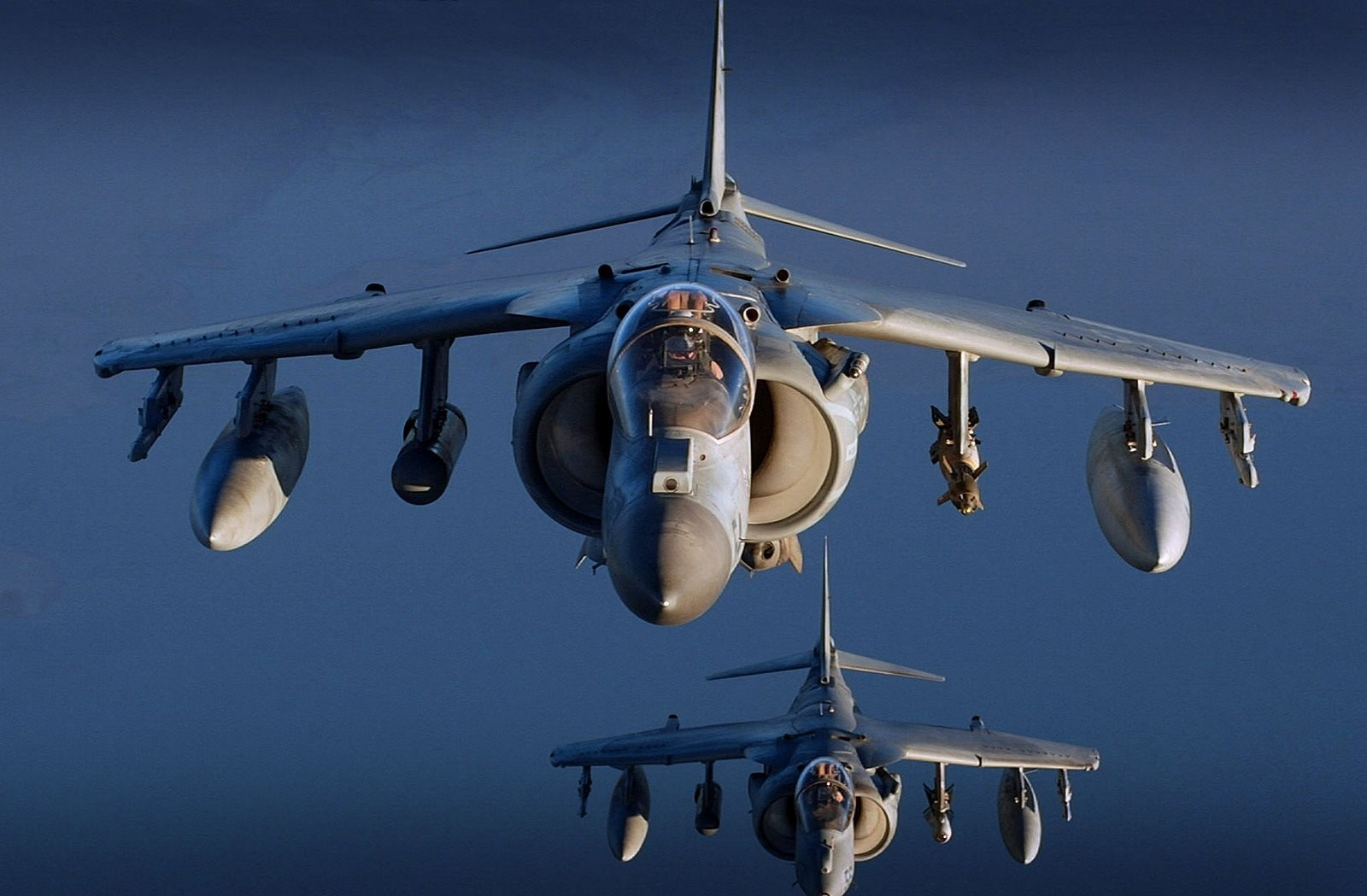 Aircraft military warfare harrier