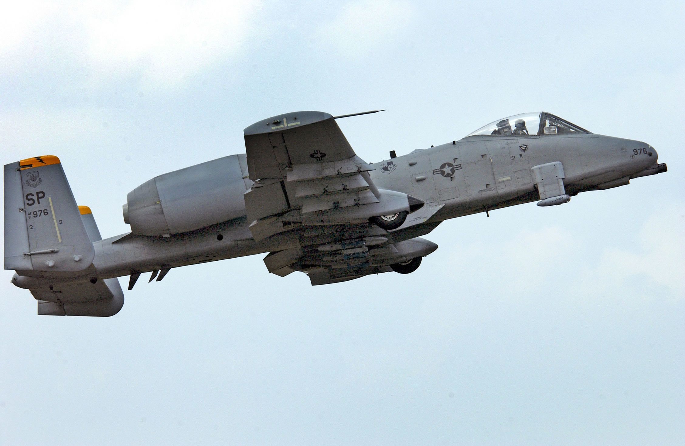 Aircraft military warthog GAU-8 HD Wallpaper