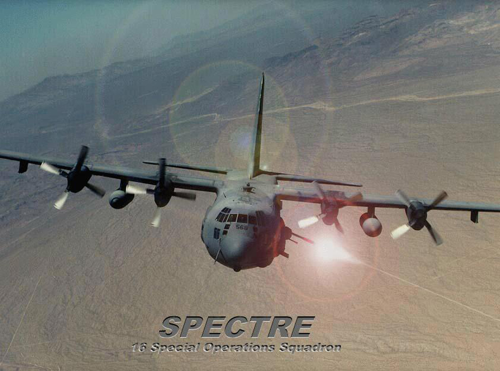 Aircraft spooky spectre HD Wallpaper