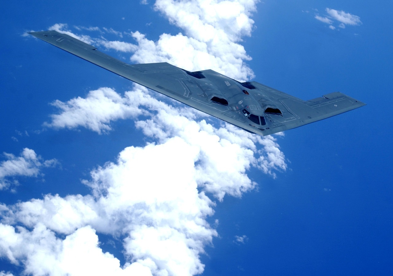 Aircraft Stealth bomber B-2 HD Wallpaper