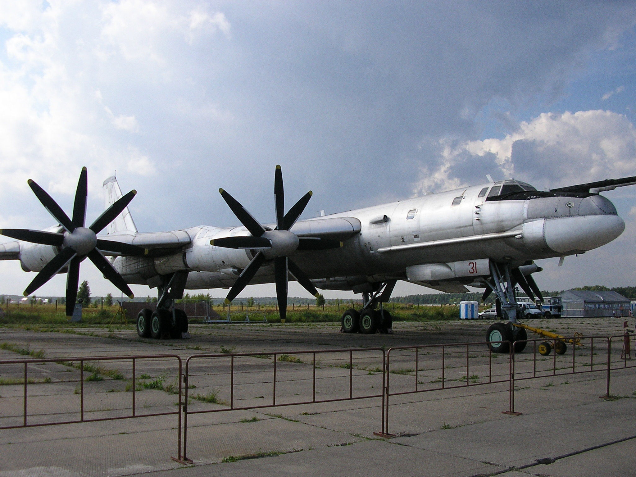 Aircraft Tu-95 Bear HD Wallpaper
