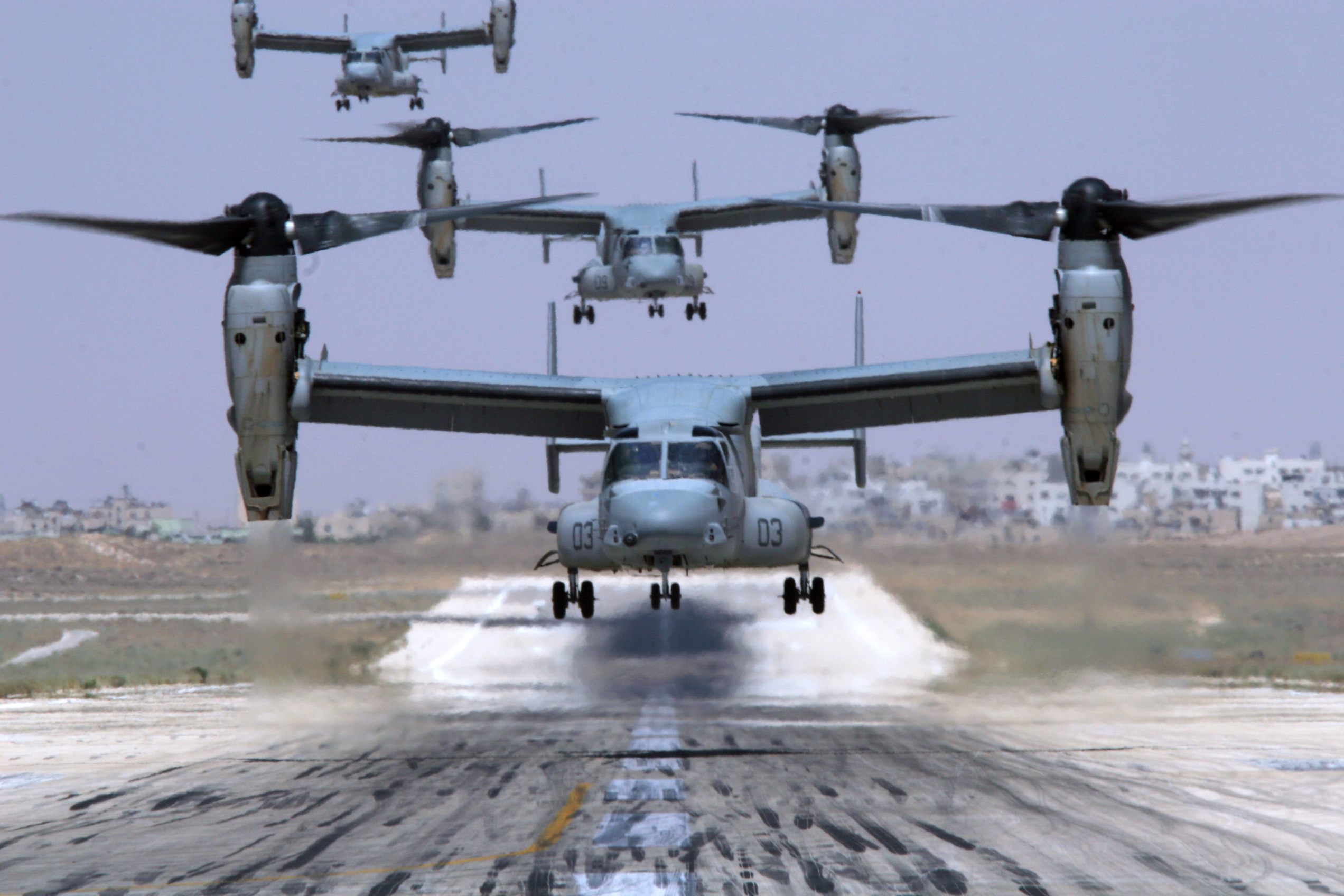 Aircraft V-22 Osprey HD Wallpaper