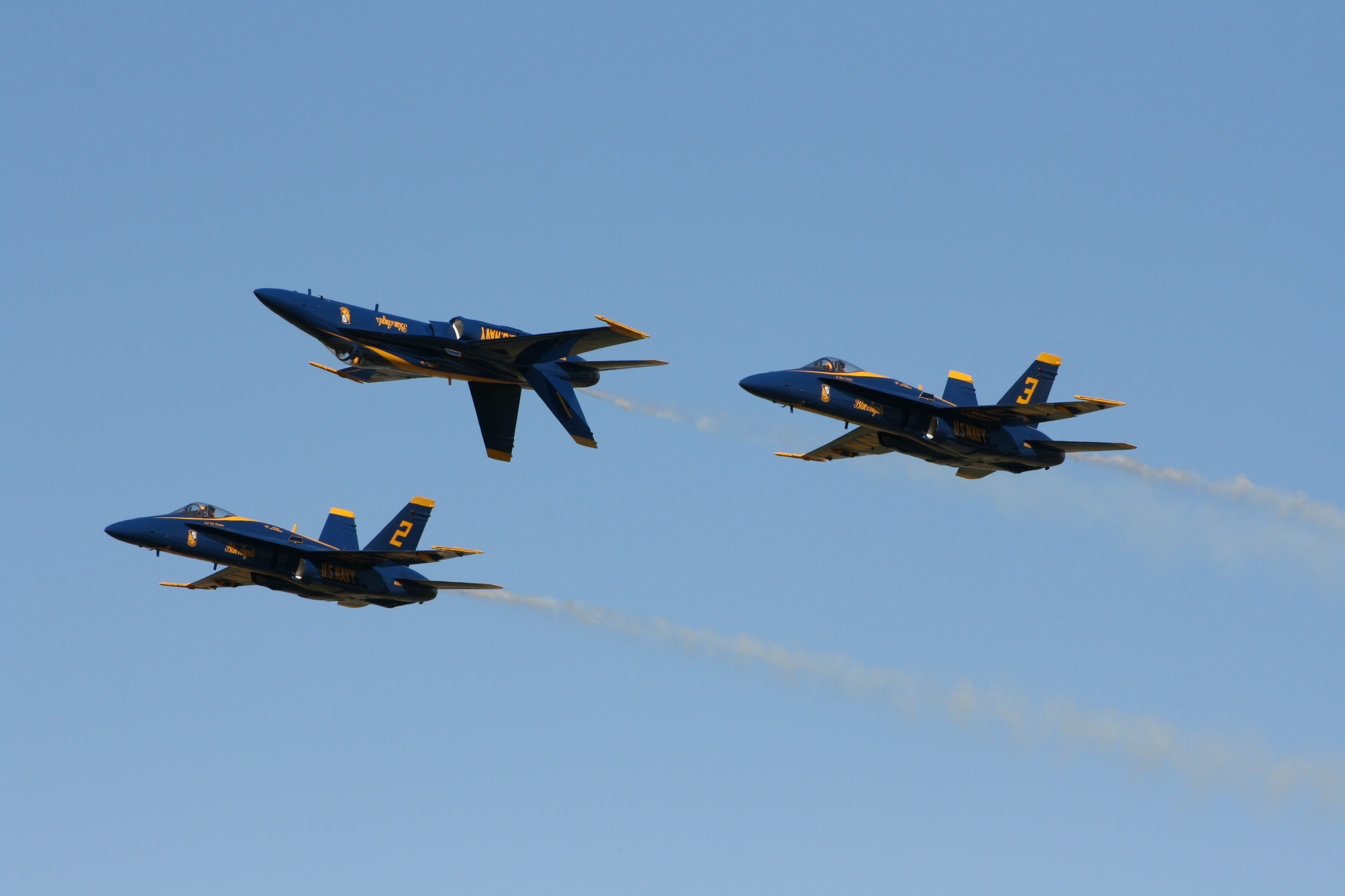 Aircraft vehicles Blue Angels