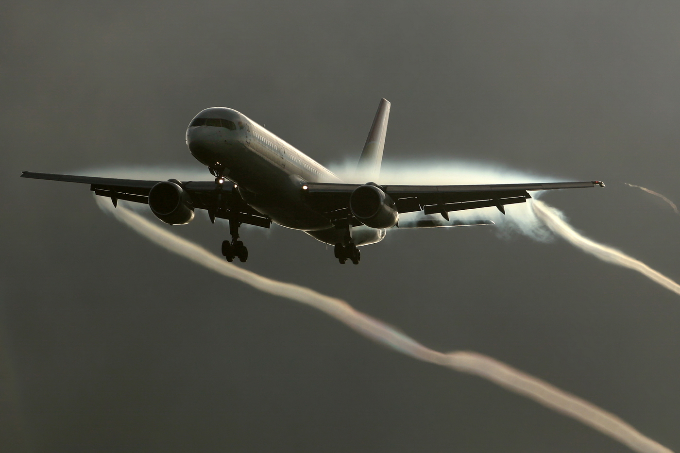 Aircraft vehicles Boeing 757
