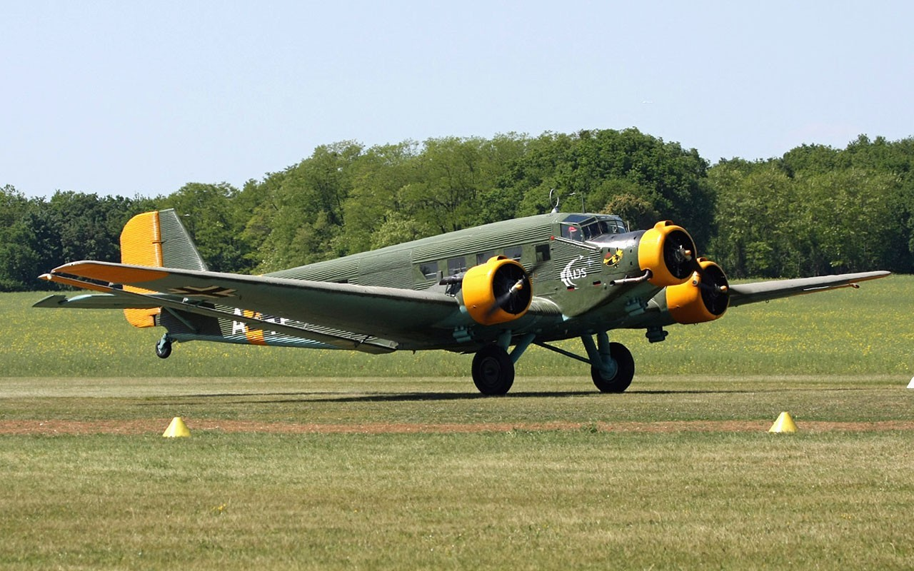Aircraft vintage airplanes germany HD Wallpaper