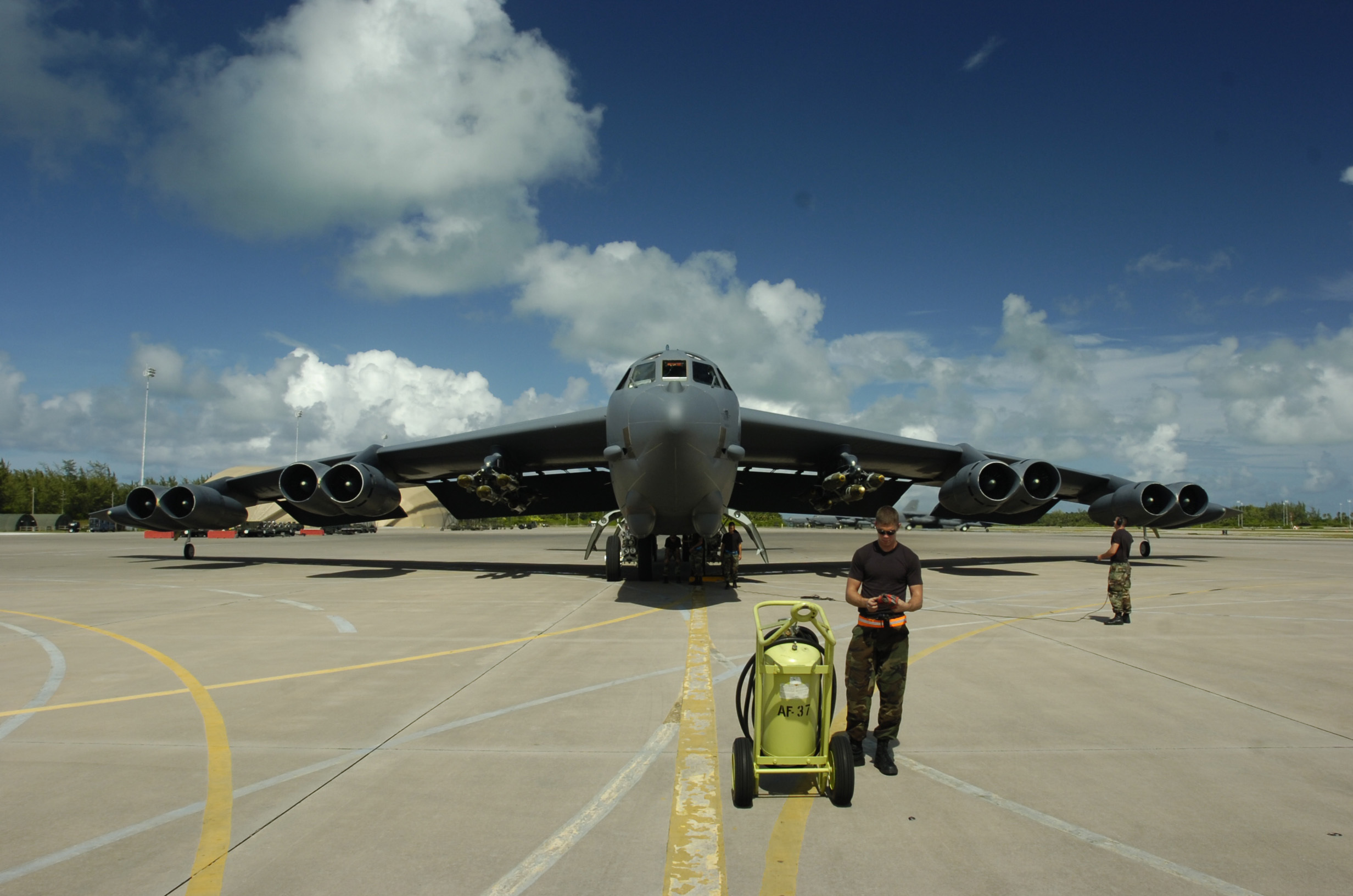 aircrafts military bomber b-52