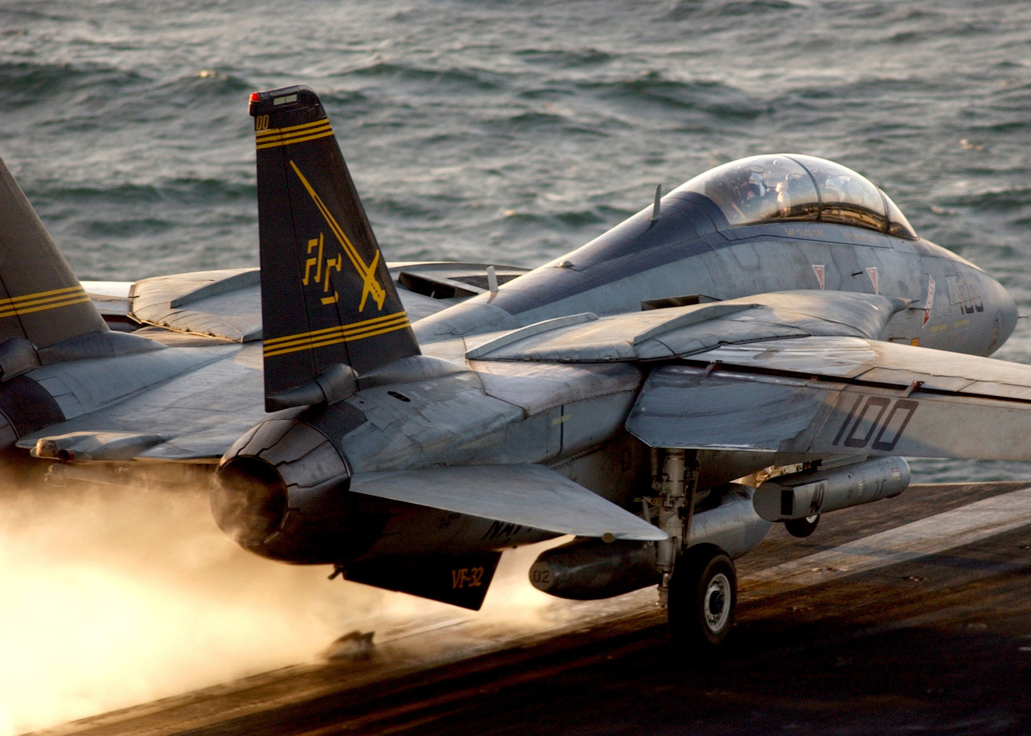 aircrafts military Navy f-14 HD Wallpaper