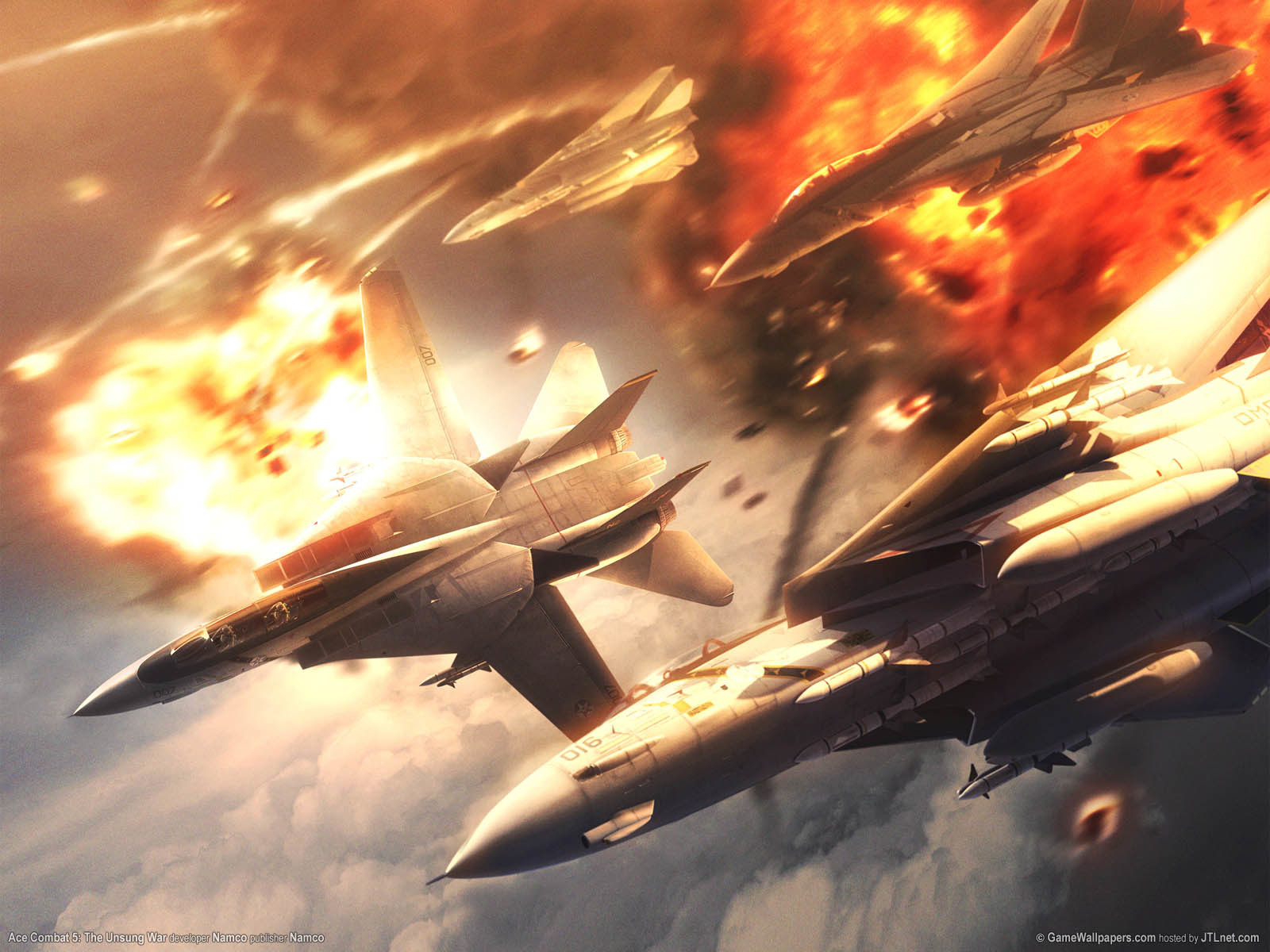 aircrafts video game ace HD Wallpaper