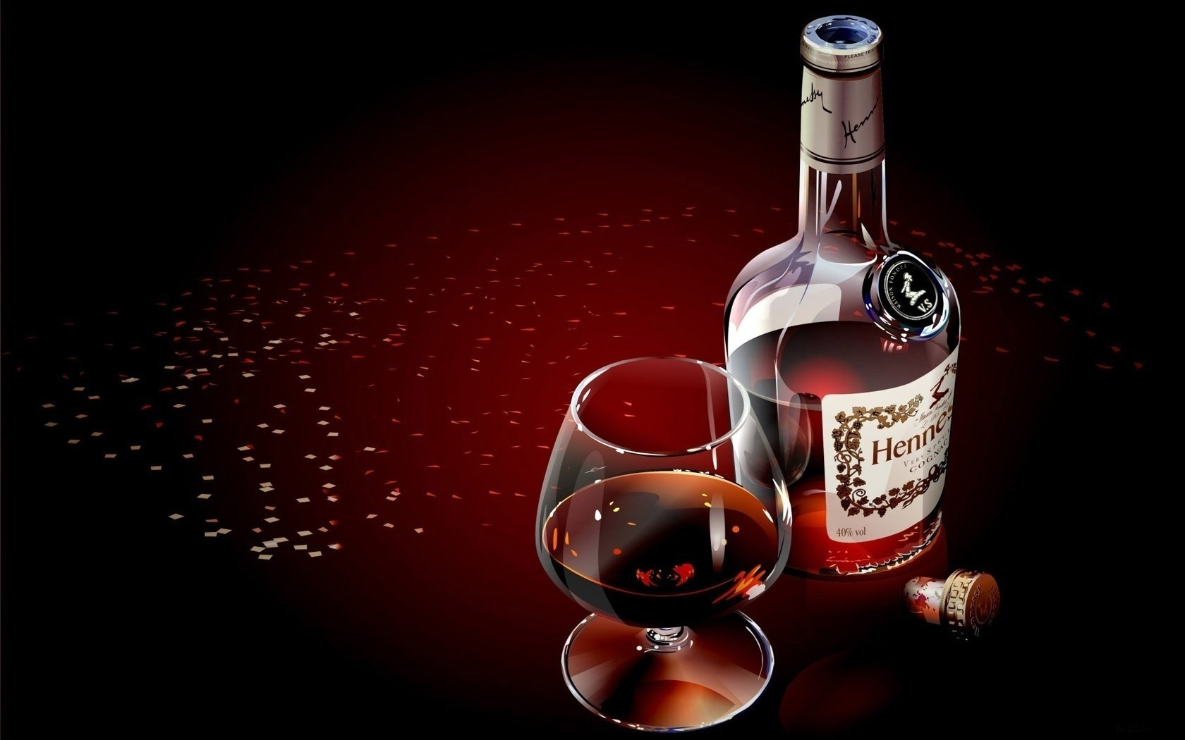 alcohol hennessy Hennessy V.S.O.P HD Wallpaper