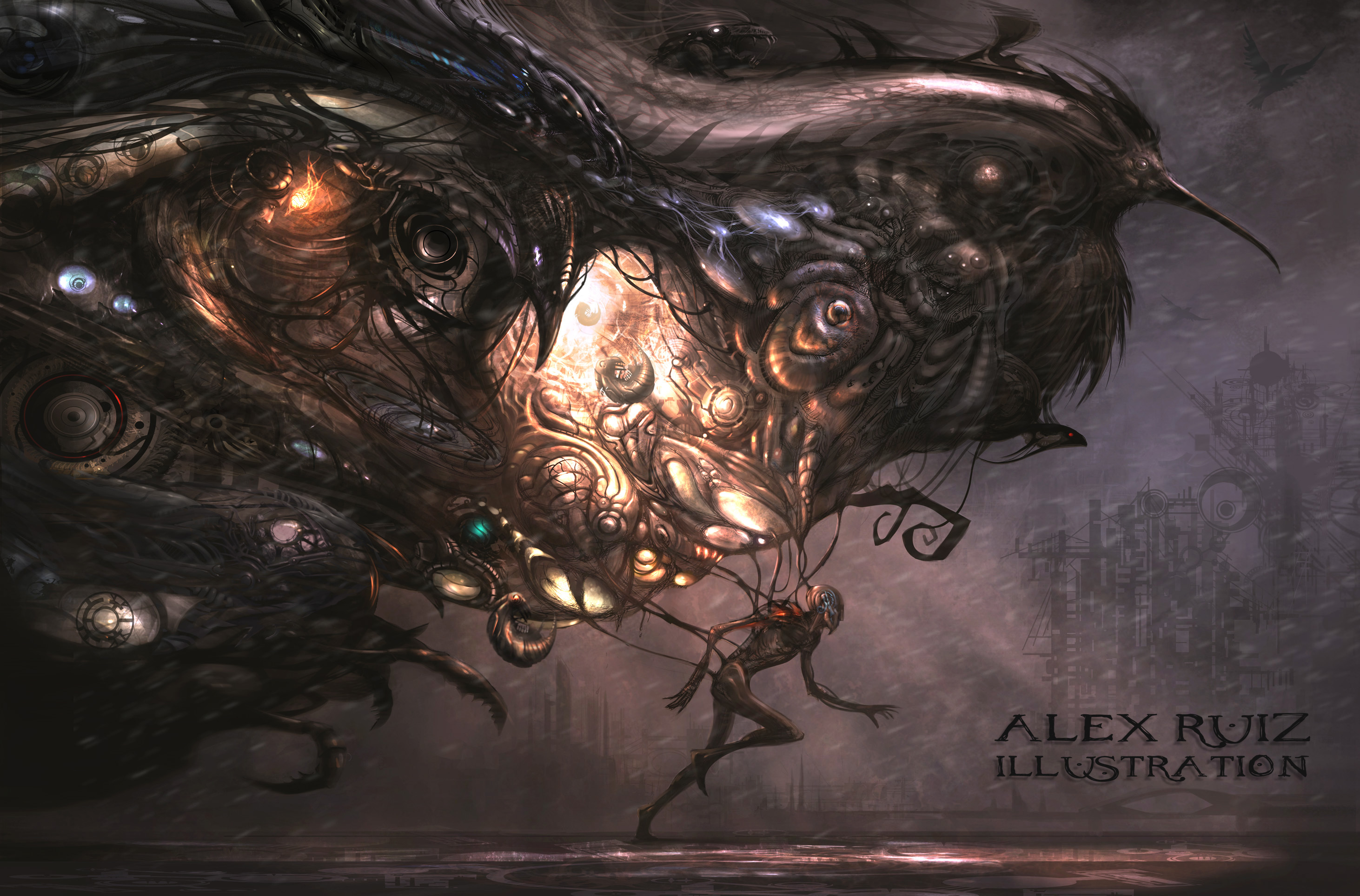 Alex Ruiz artwork HD Wallpaper