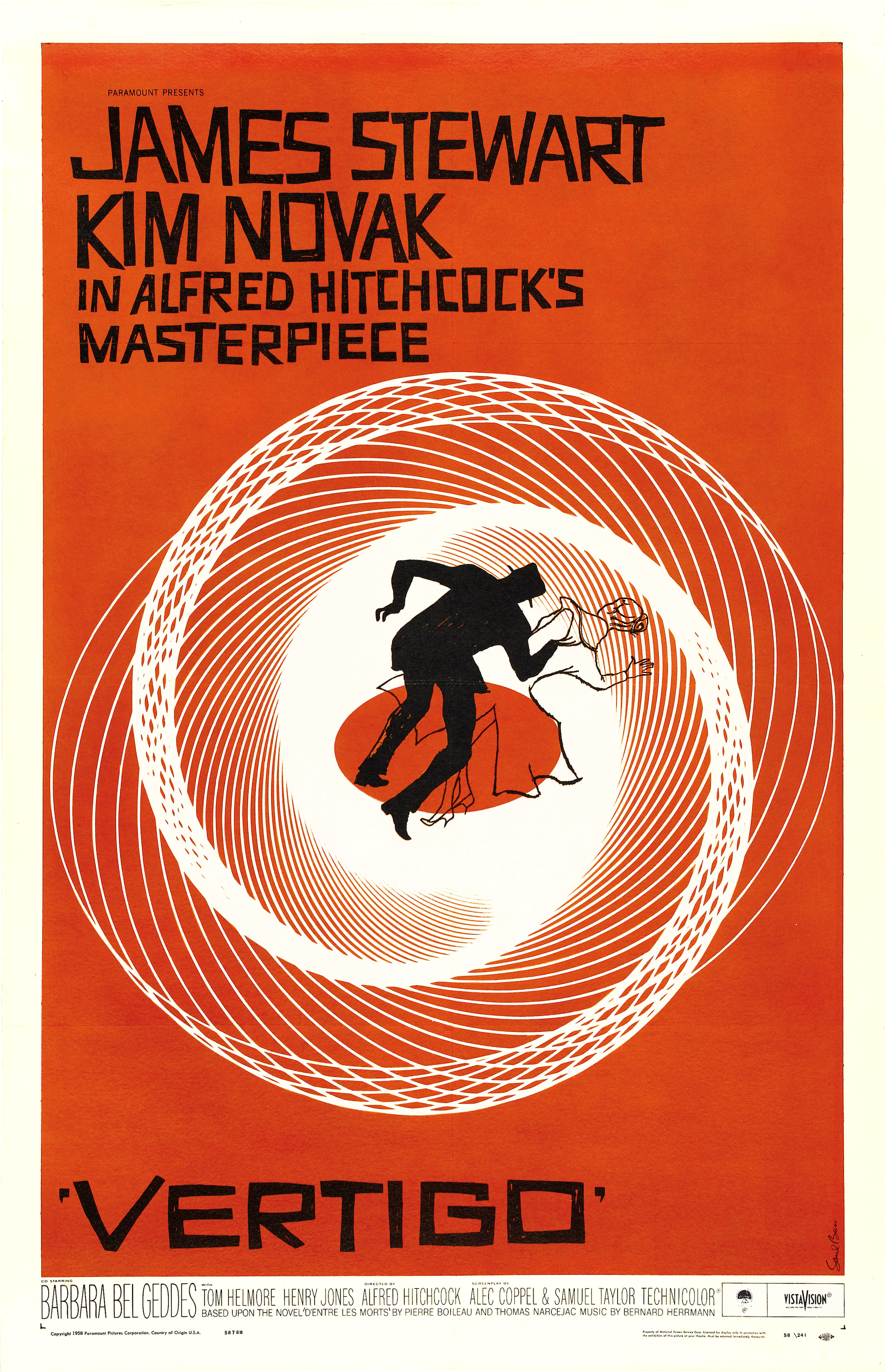 Alfred hitchcock vertigo HD Wallpaper