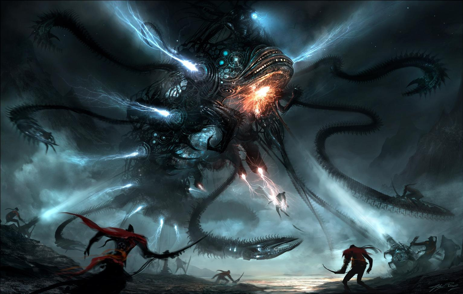 alien life forms Alex HD Wallpaper