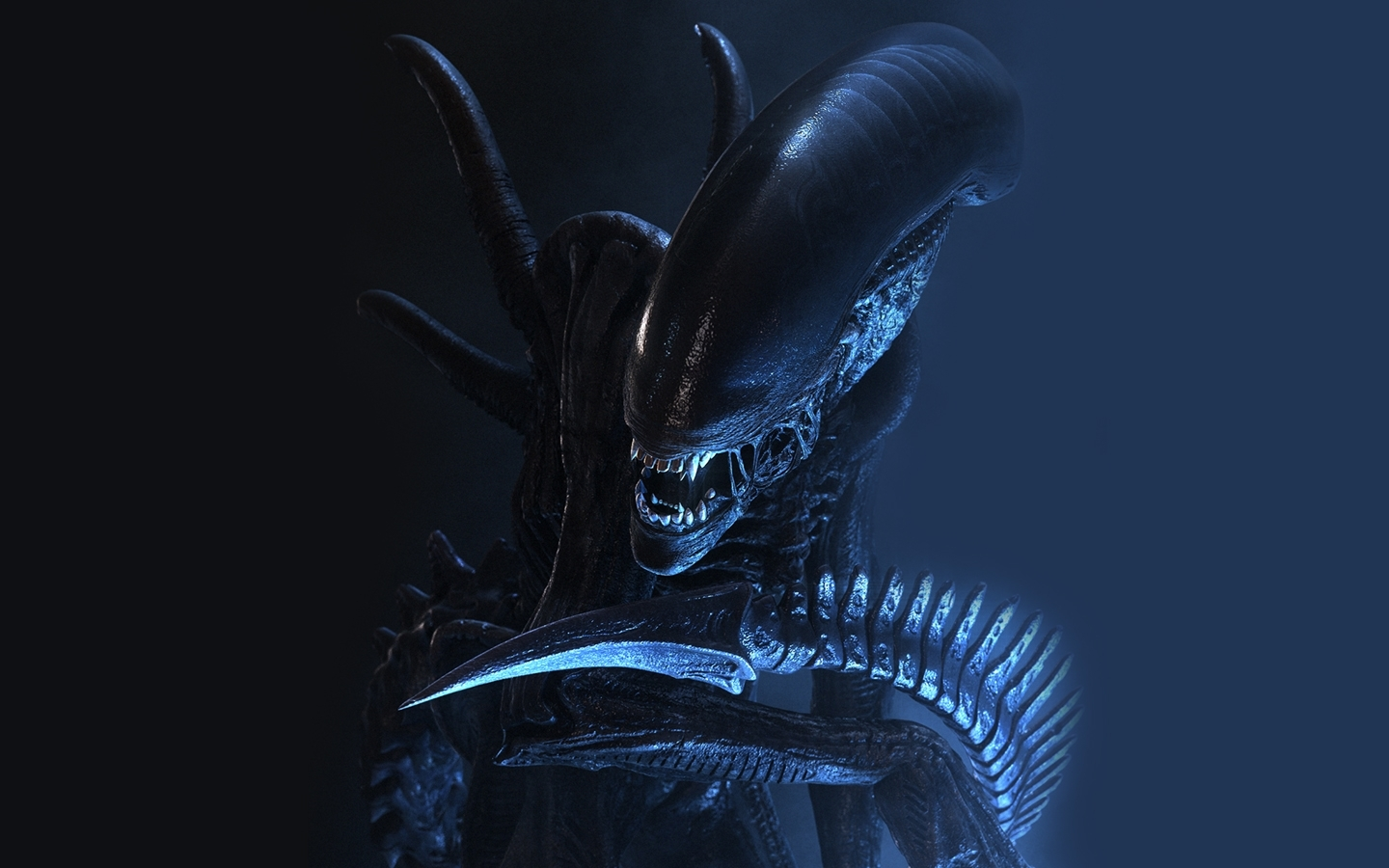 Aliens Movie horror creatures HD Wallpaper
