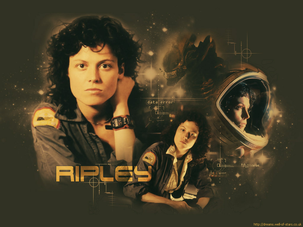 Aliens sigourney weaver HD Wallpaper