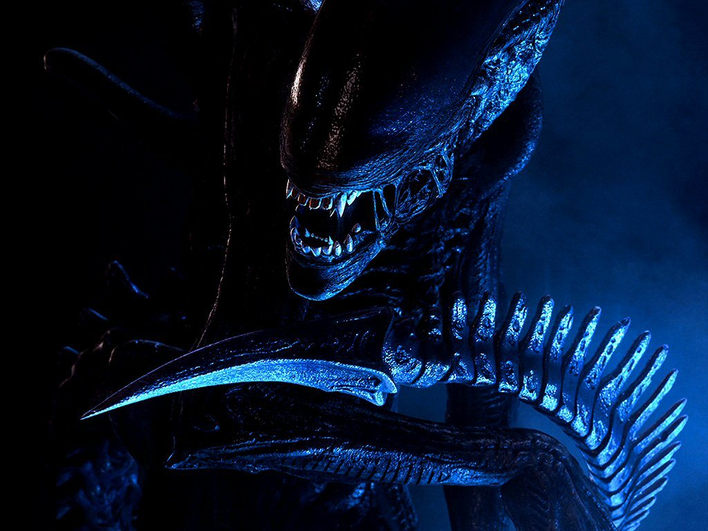 Aliens terrible creatures invasion HD Wallpaper