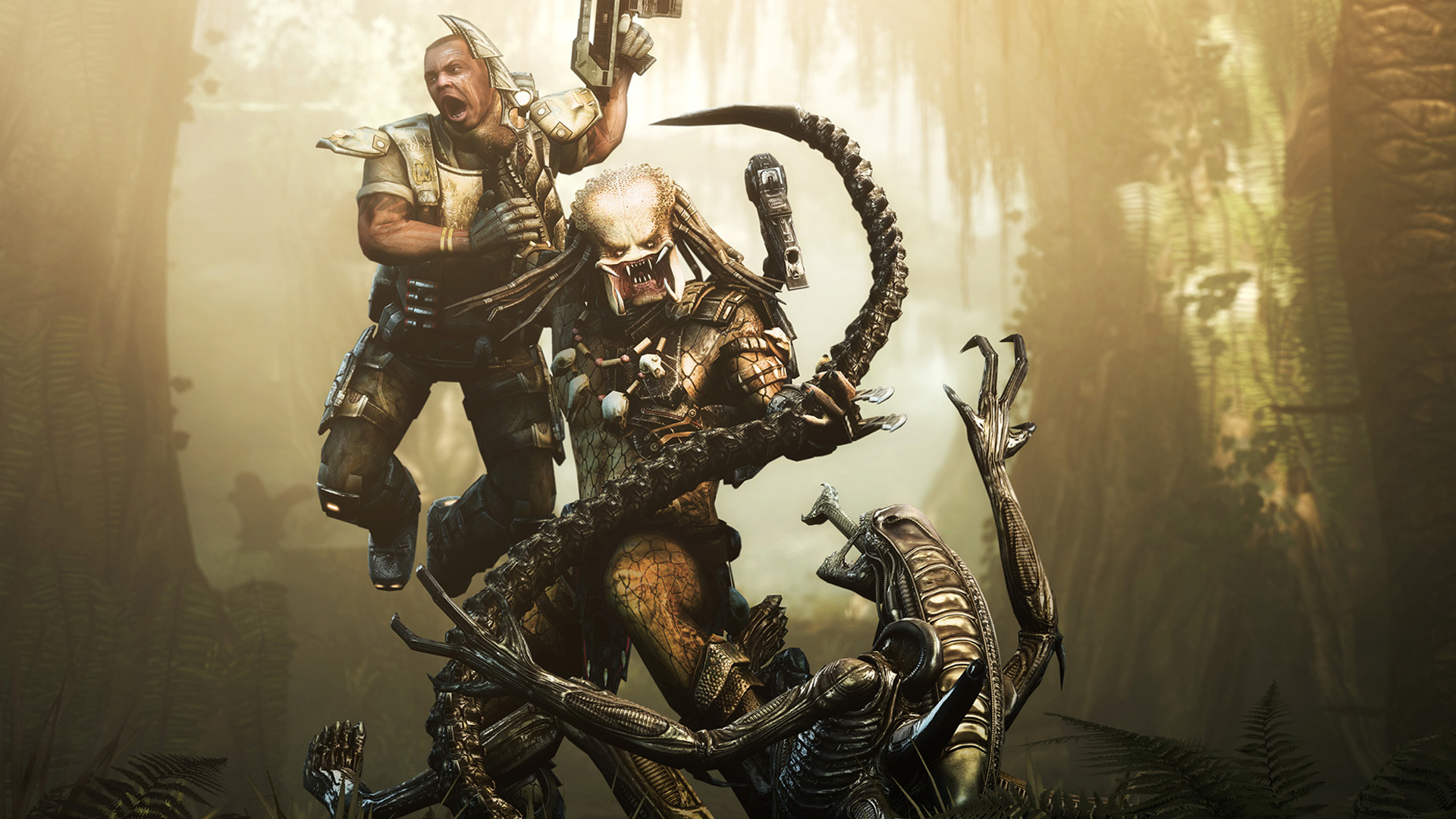 Aliens vs predator Movie HD Wallpaper