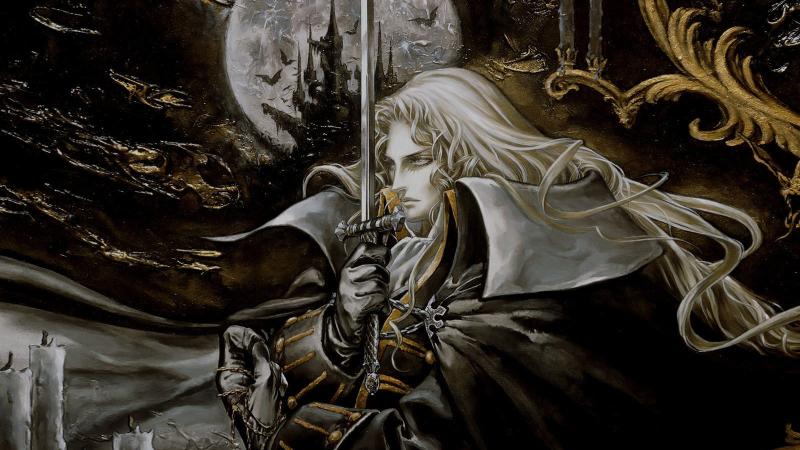 alucard castlevania HD Wallpaper