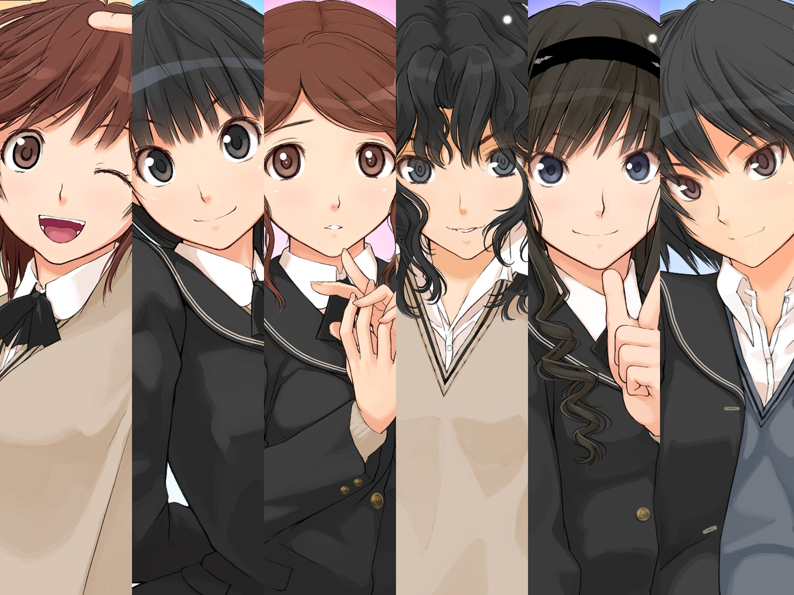 amagami ss Anime HD Wallpaper