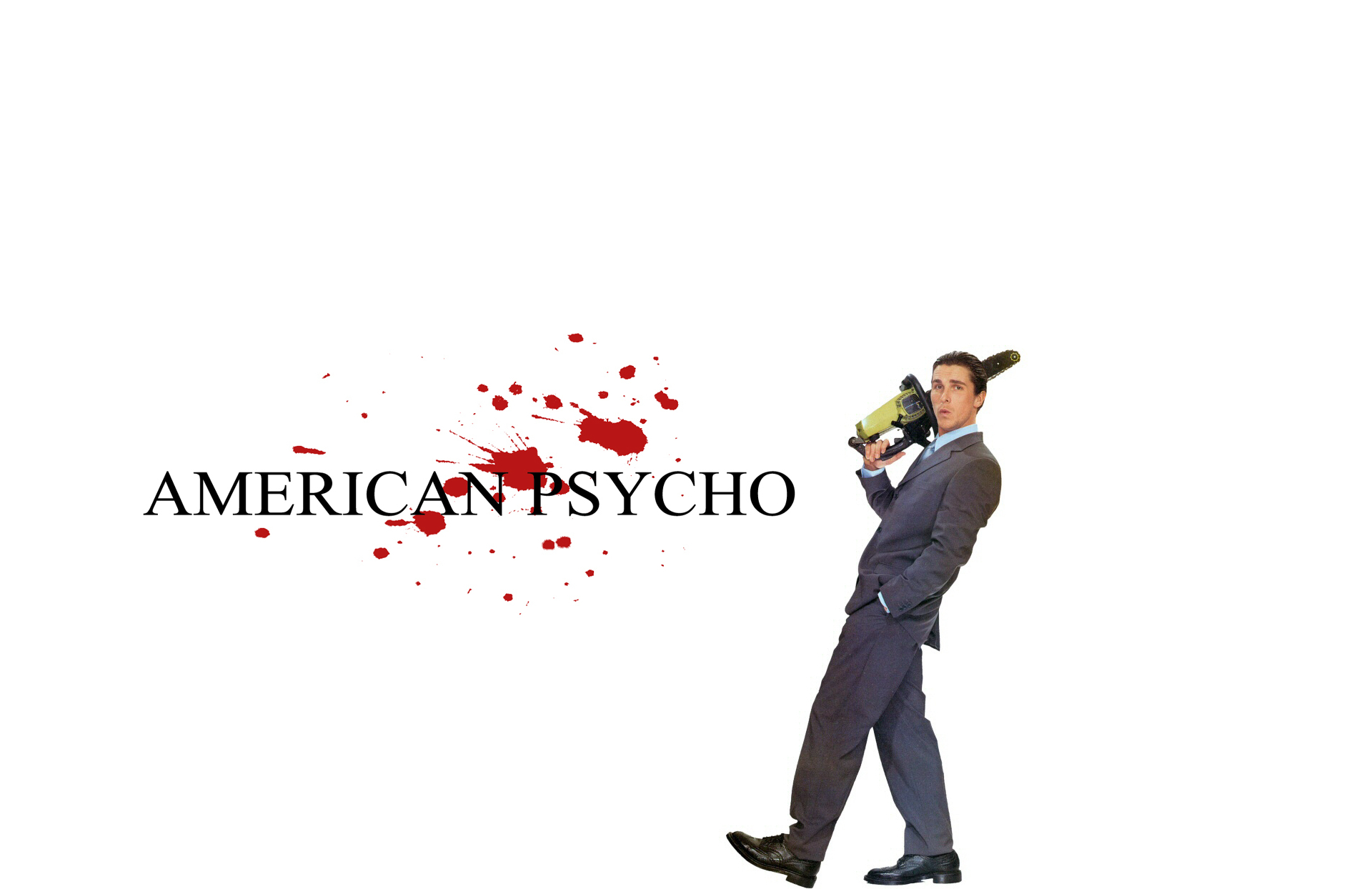 American Psycho christian bale HD Wallpaper