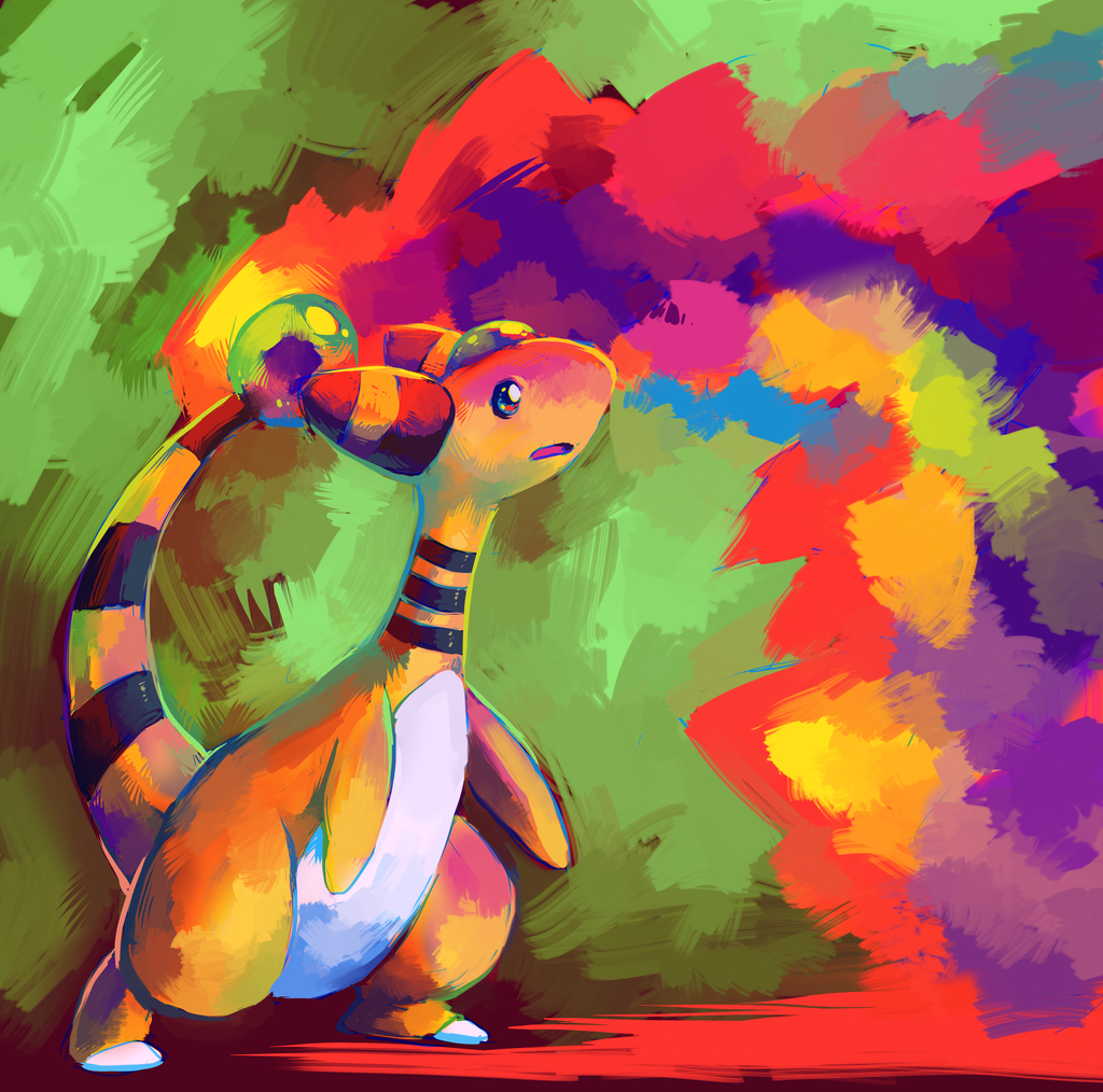 ampharos used signal beam HD Wallpaper