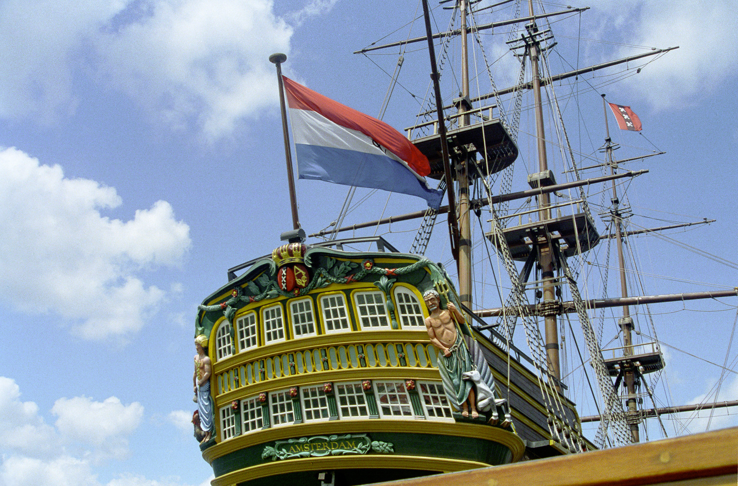 Amsterdam sail ship watercraft HD Wallpaper