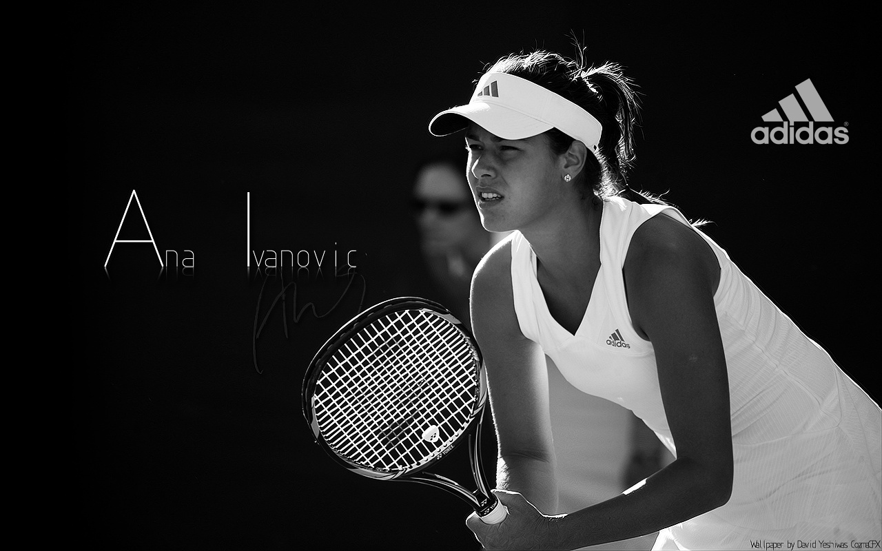 ana ivanovic woman Adidas HD Wallpaper