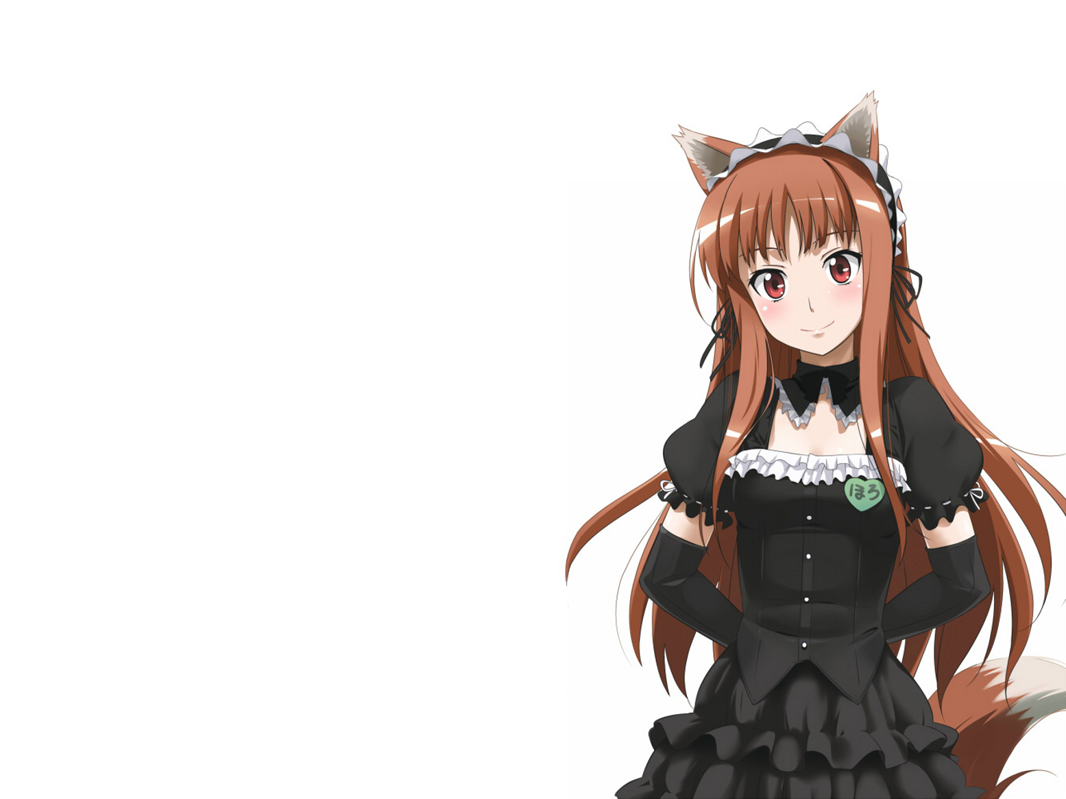 and wolf animal ears HD Wallpaper