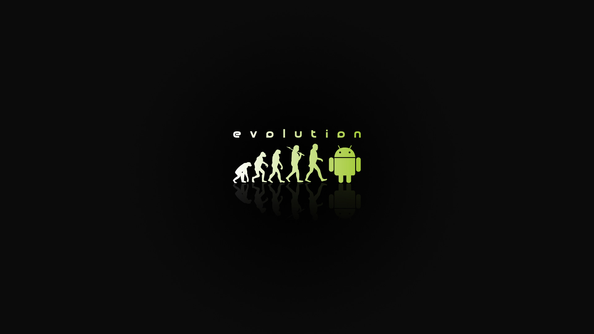 android Evolution computer HD Wallpaper