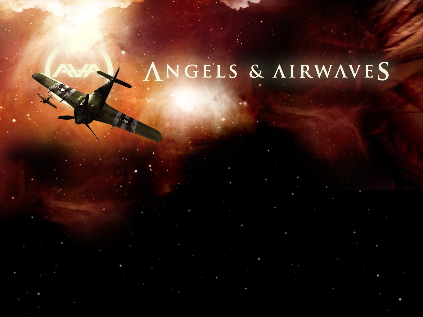 Angel and Airwaves bands HD Wallpaper