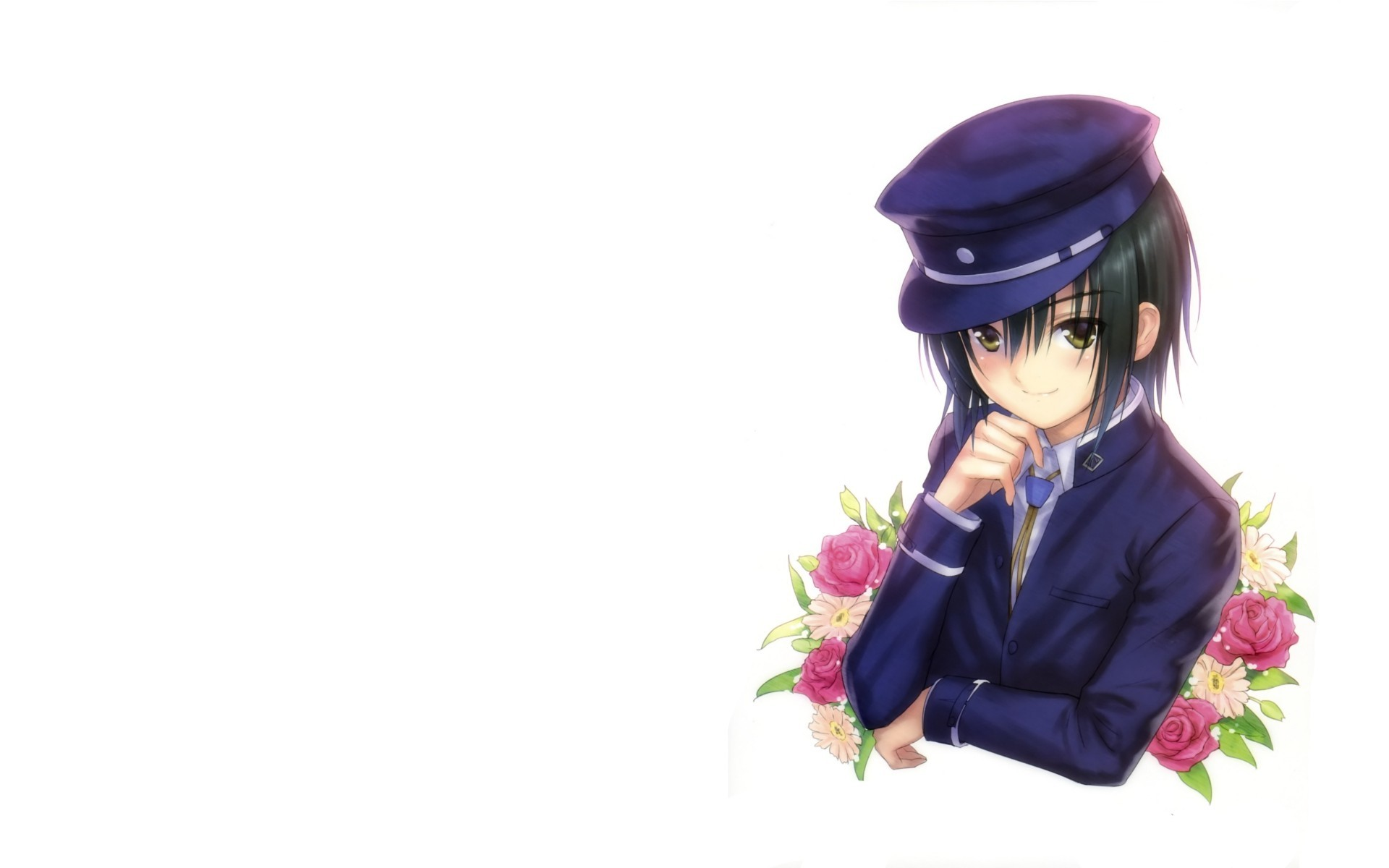 angel beats Anime white HD Wallpaper