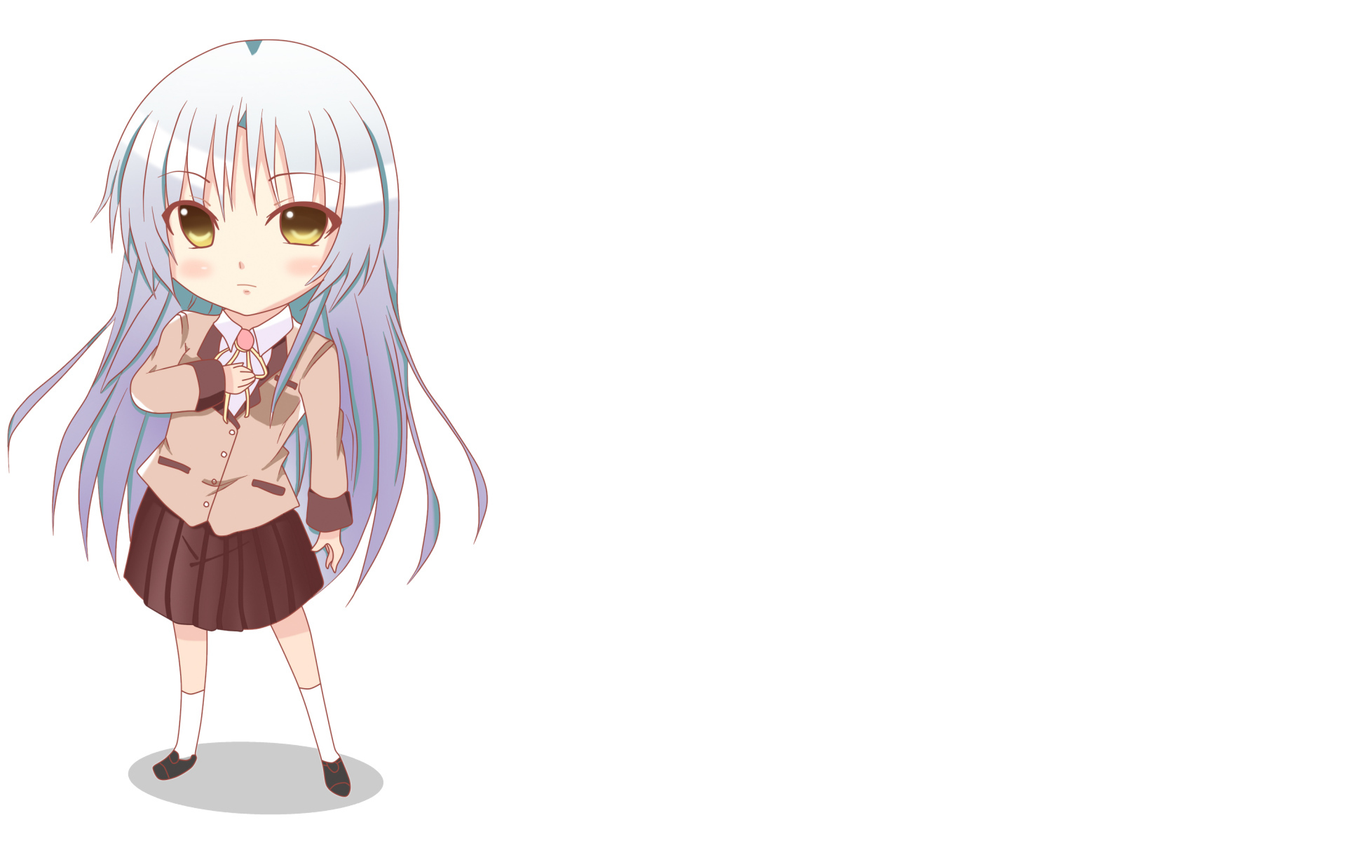 angel beats Chibi tachibana HD Wallpaper
