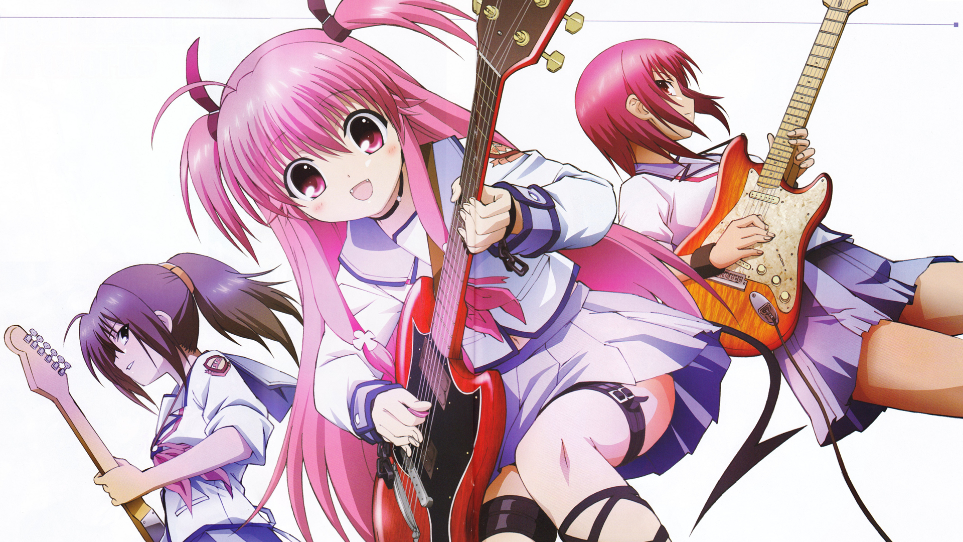 angel beats Hisako yui HD Wallpaper