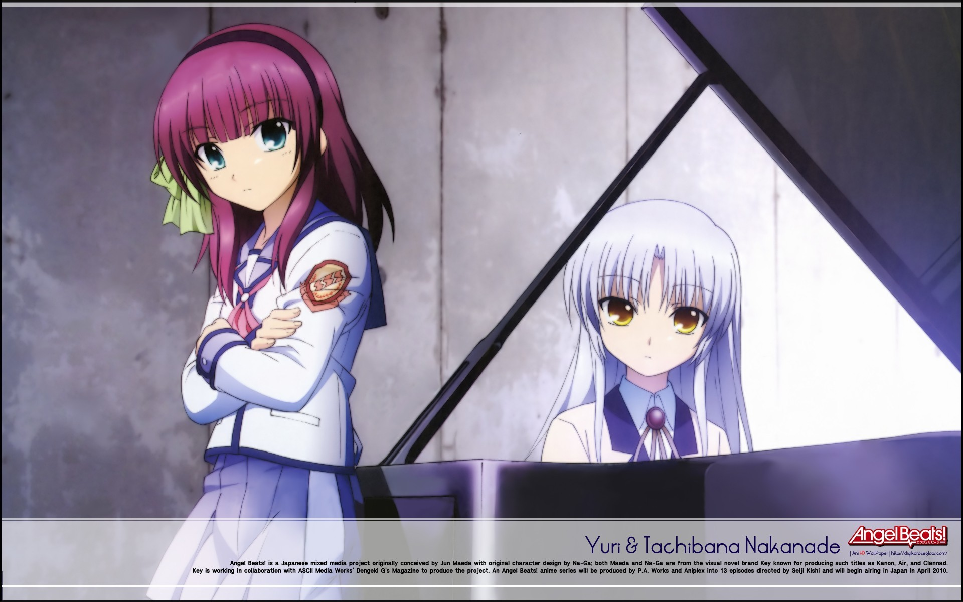angel beats tachibana kanade HD Wallpaper