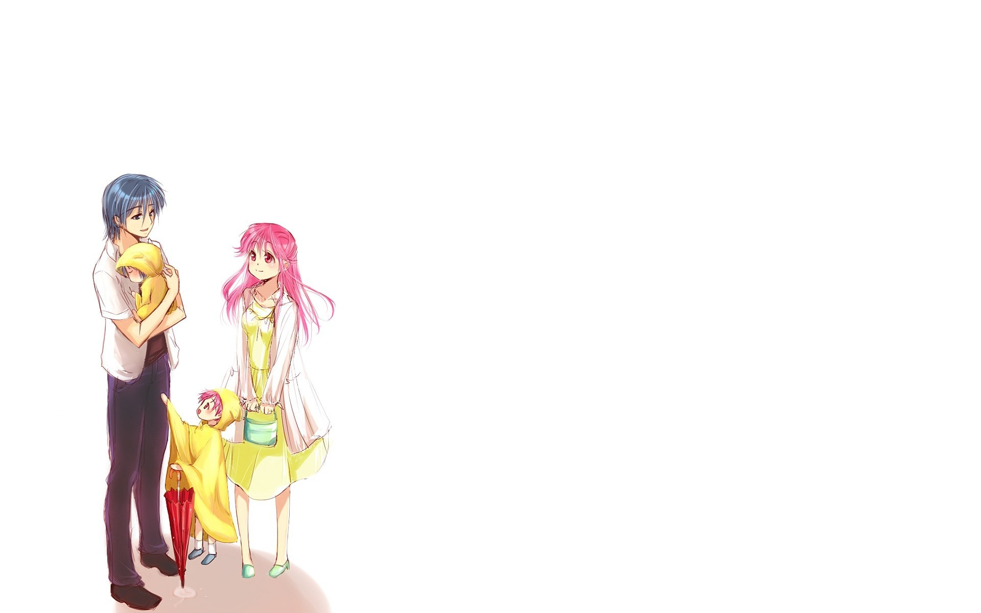 angel beats white background HD Wallpaper