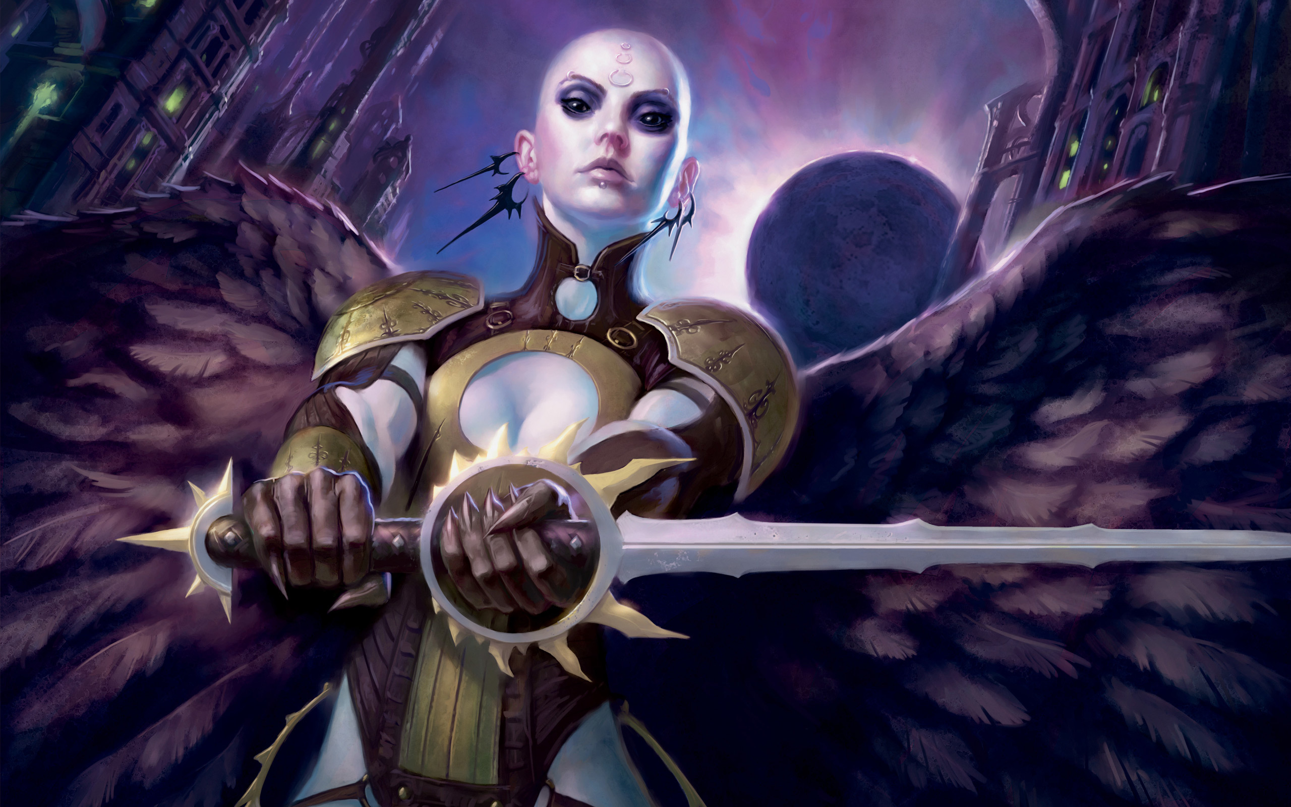 angels magic: the gathering HD Wallpaper