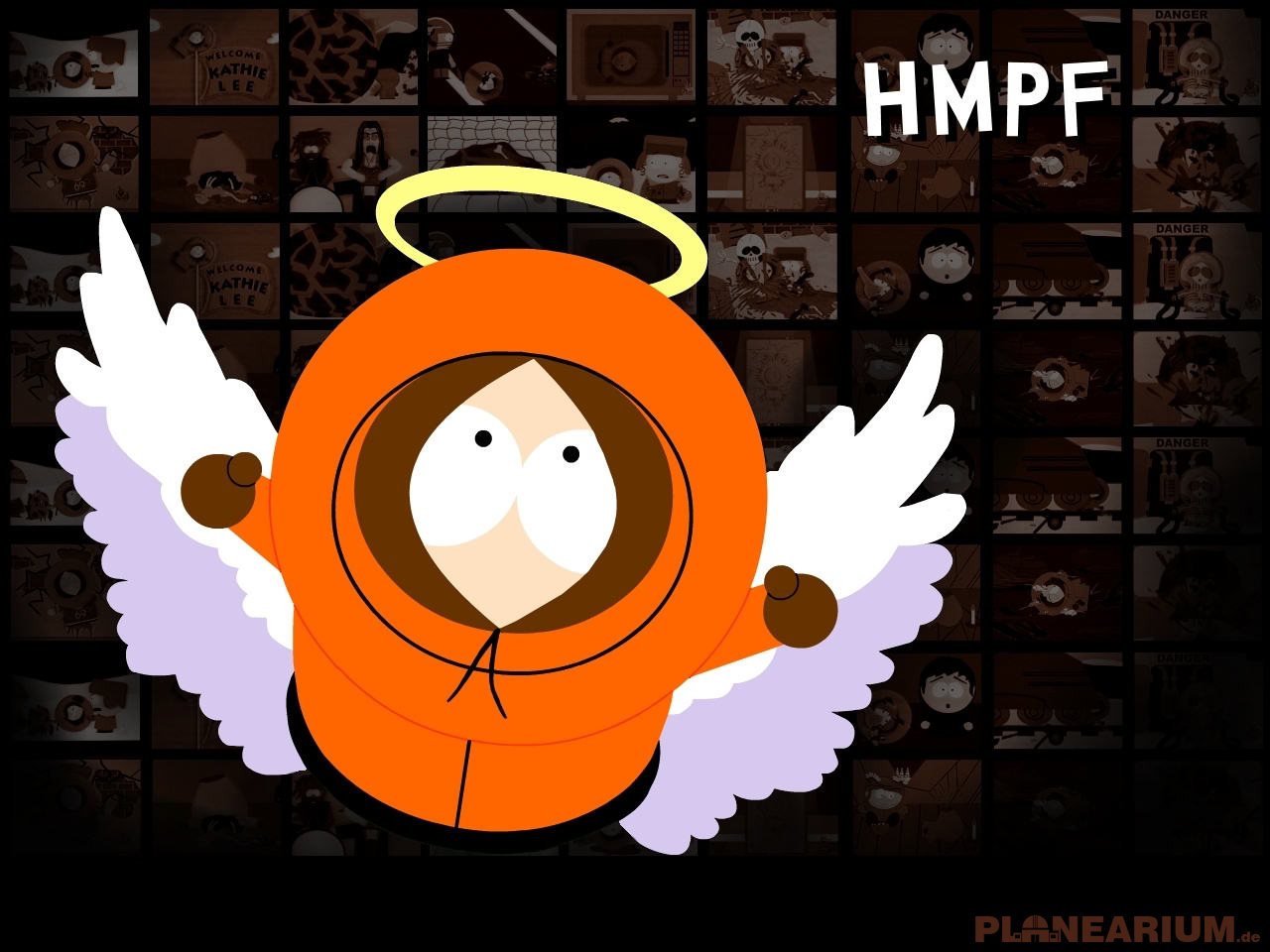 angels south park kenny HD Wallpaper