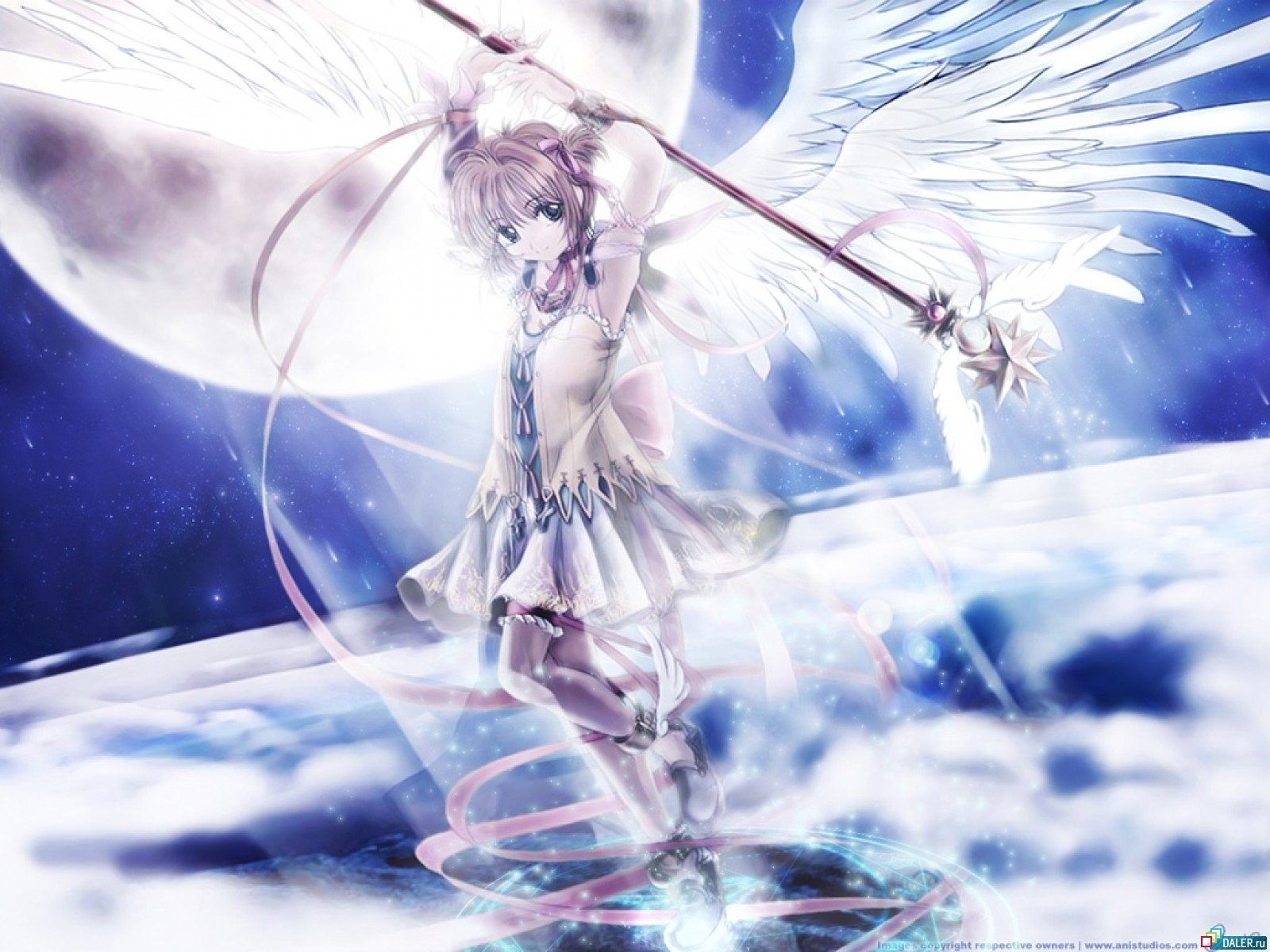 angels wings Cardcaptor Sakura HD Wallpaper