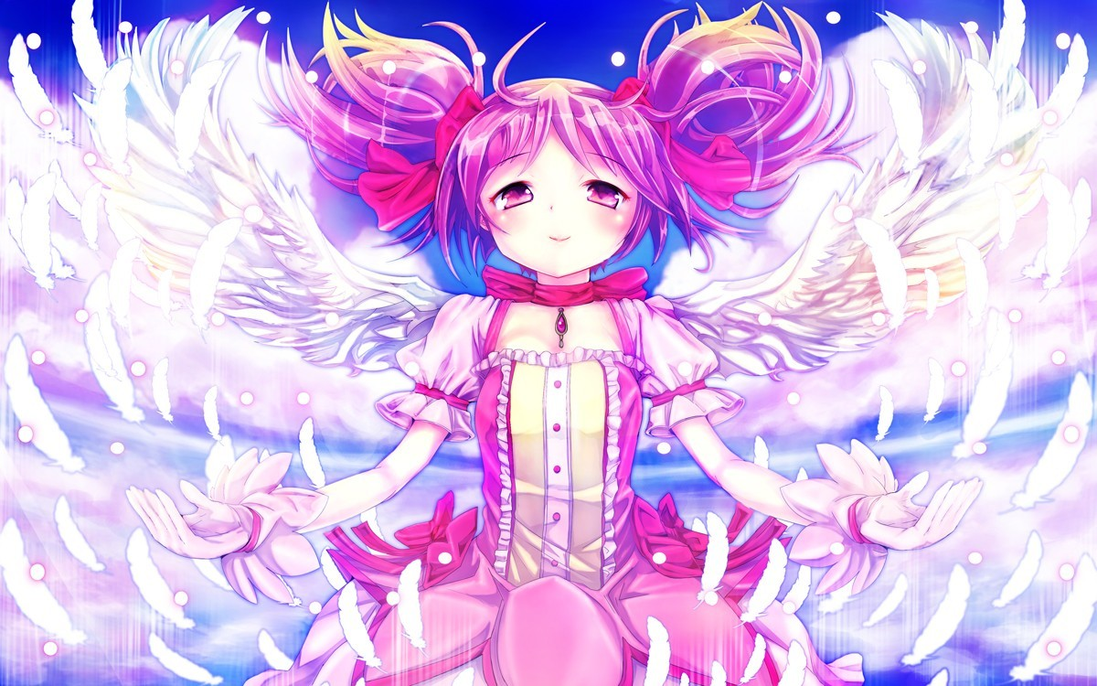 angels wings gloves dress HD Wallpaper