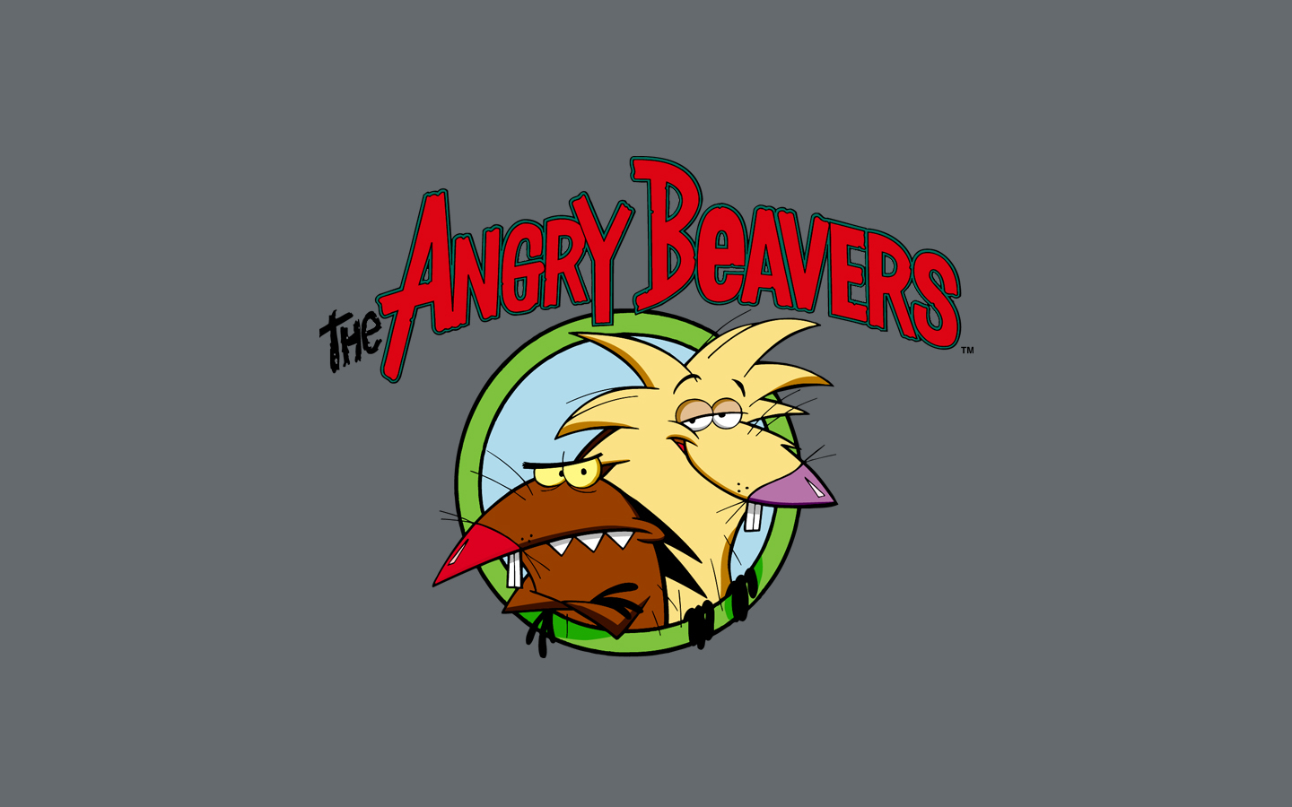 angry Beavers HD Wallpaper