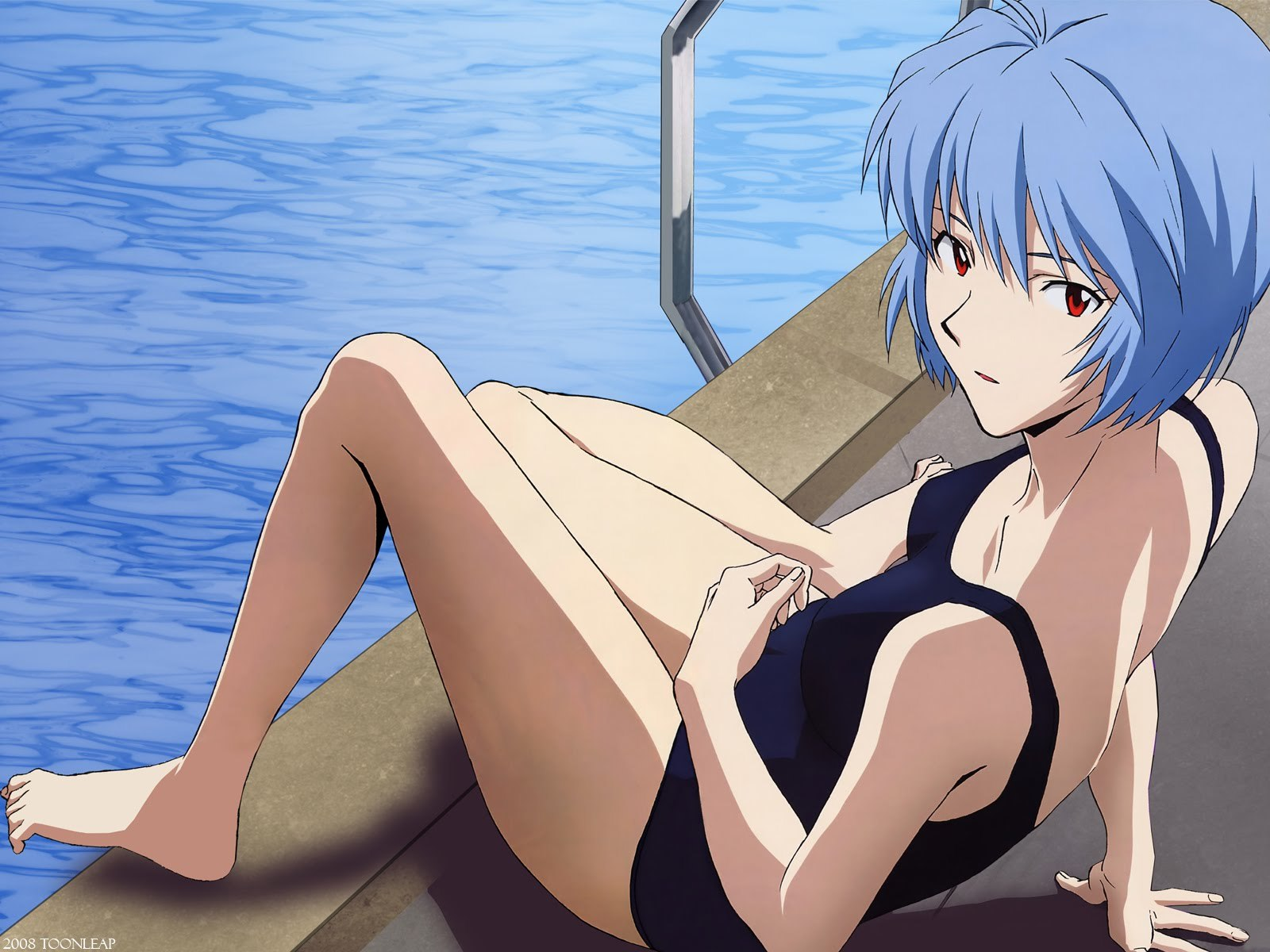Anime Ayanami rei neon HD Wallpaper